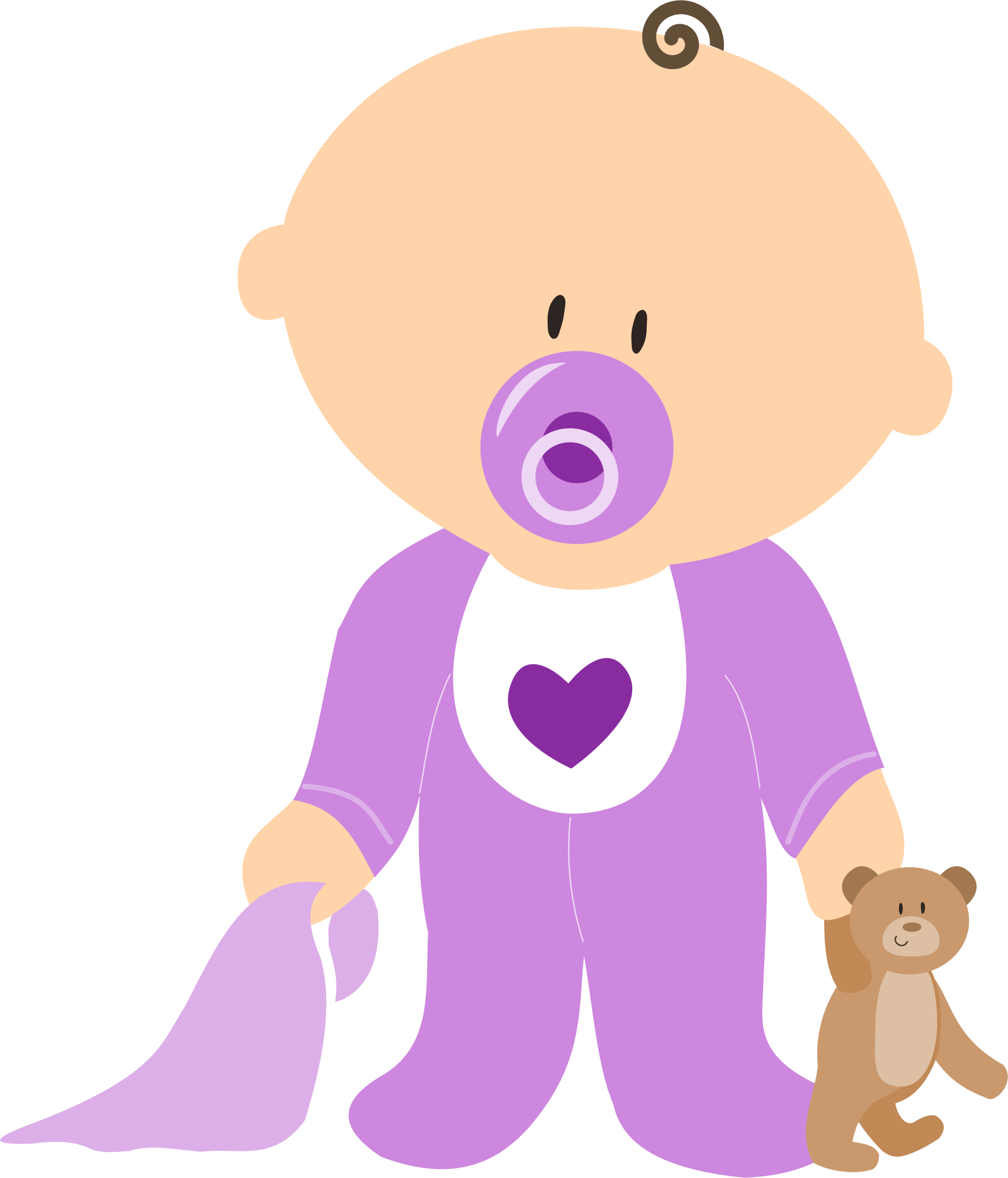 Clipart - Baby Boy