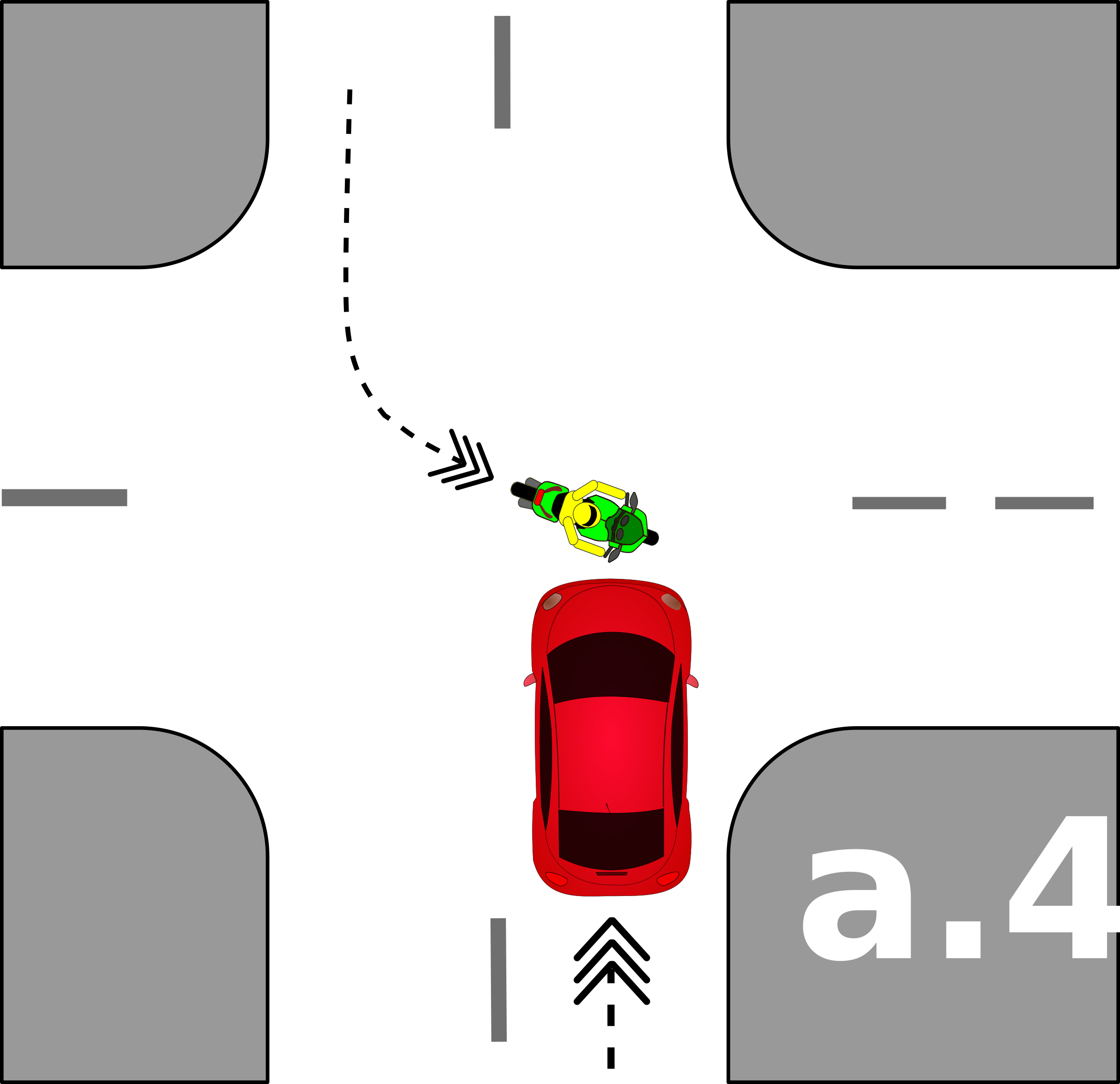 traffic accident pictograms a.4 by Gusta