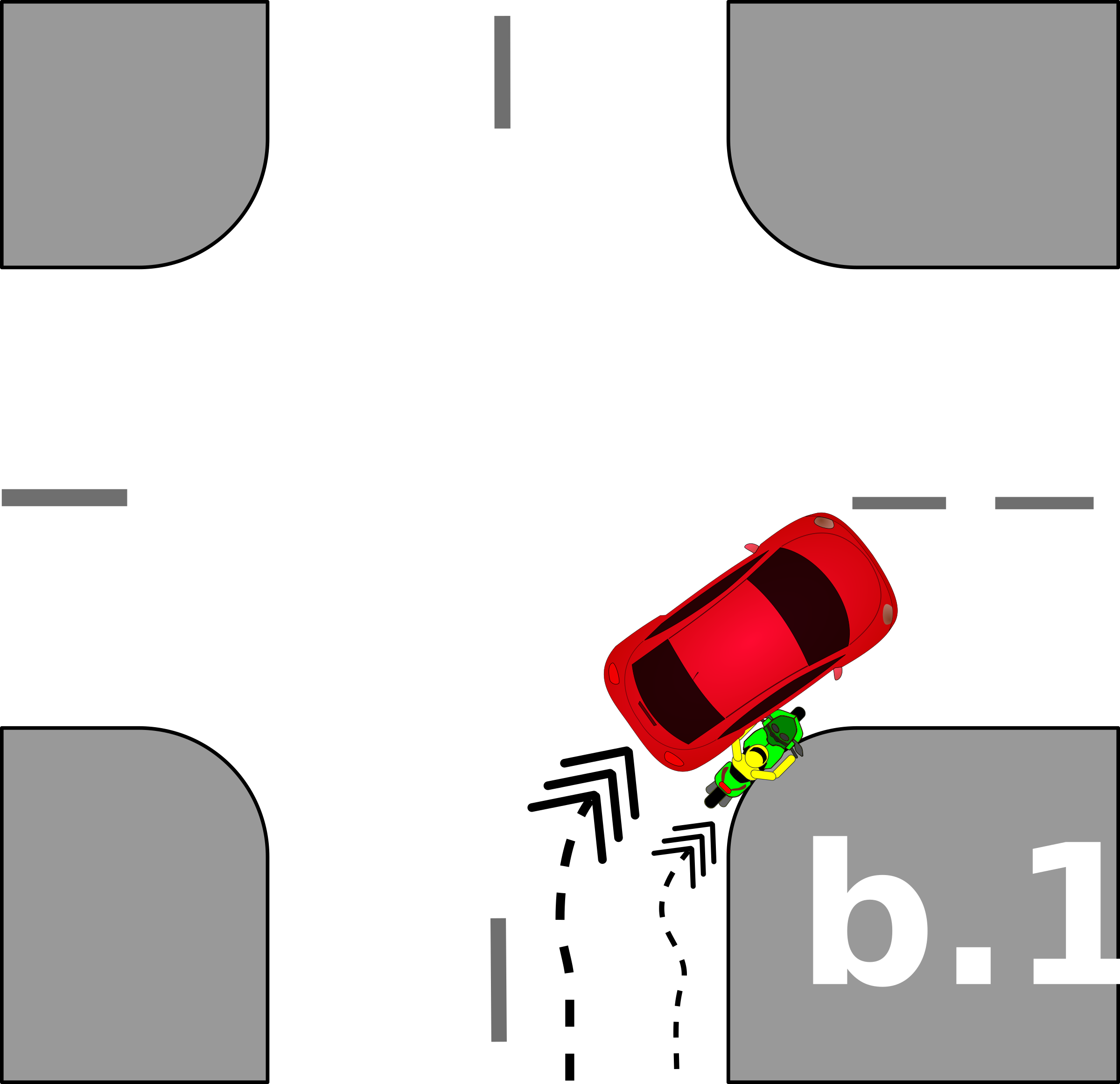 traffic accident pictograms b.1 by Gusta