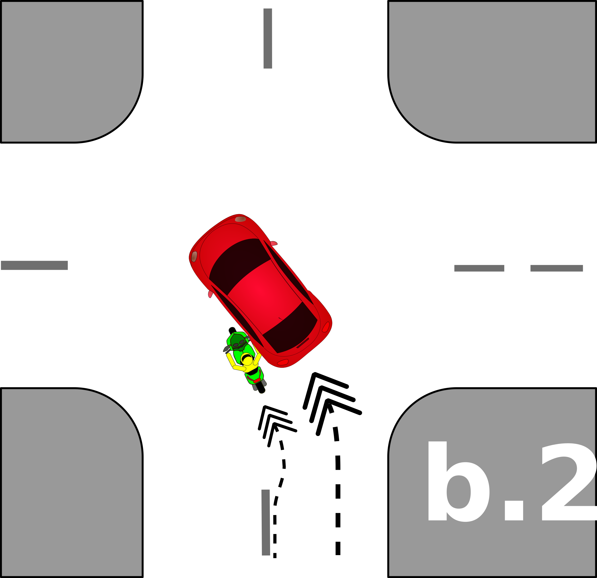 traffic accident pictograms b.2 by Gusta