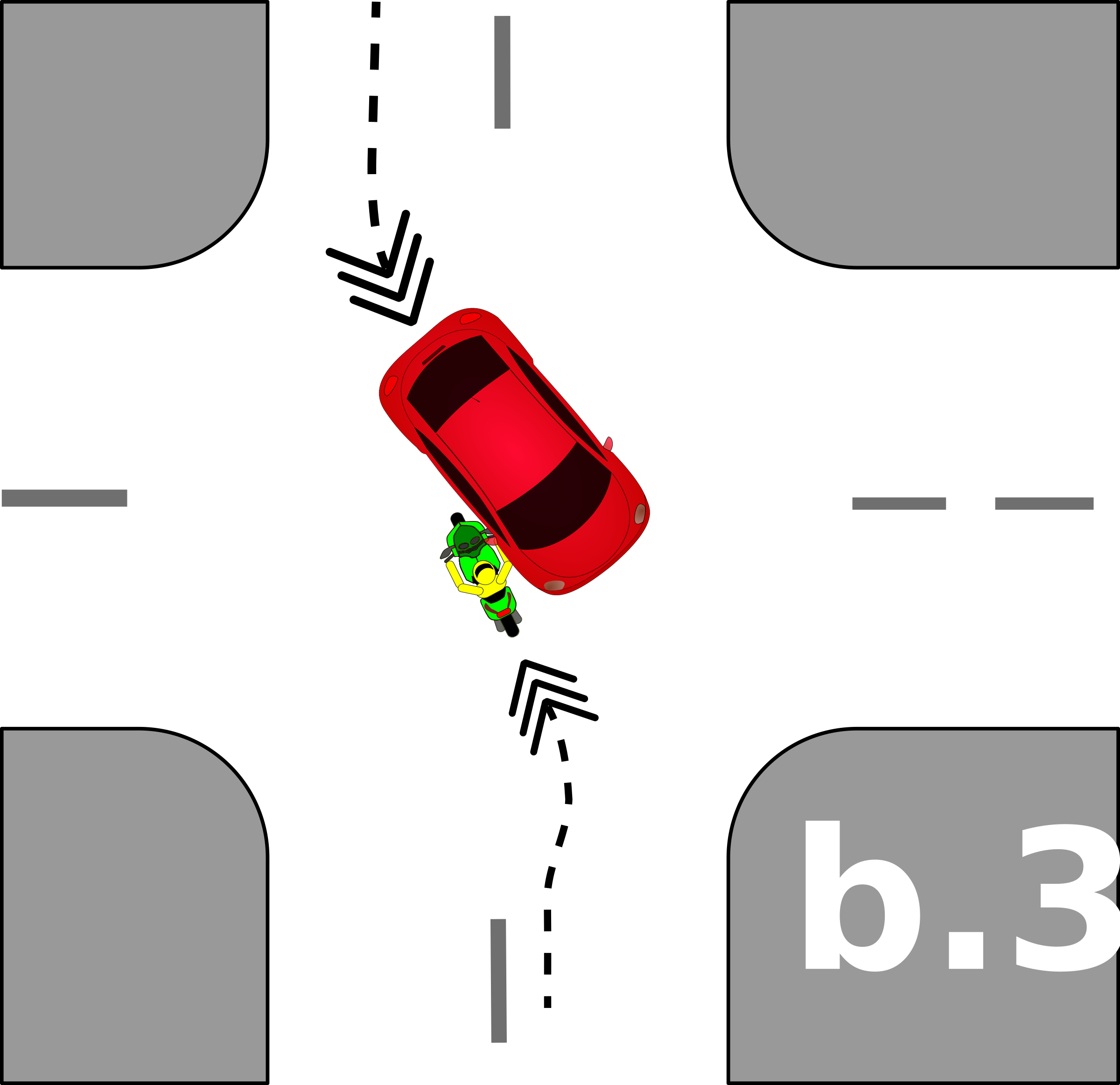 traffic accident pictograms b.3 by Gusta
