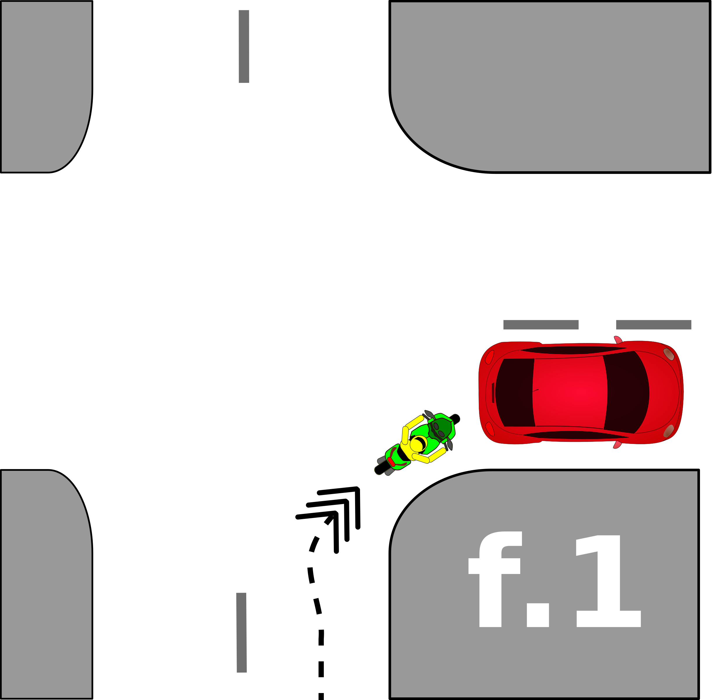 traffic accident pictograms f.1 by Gusta