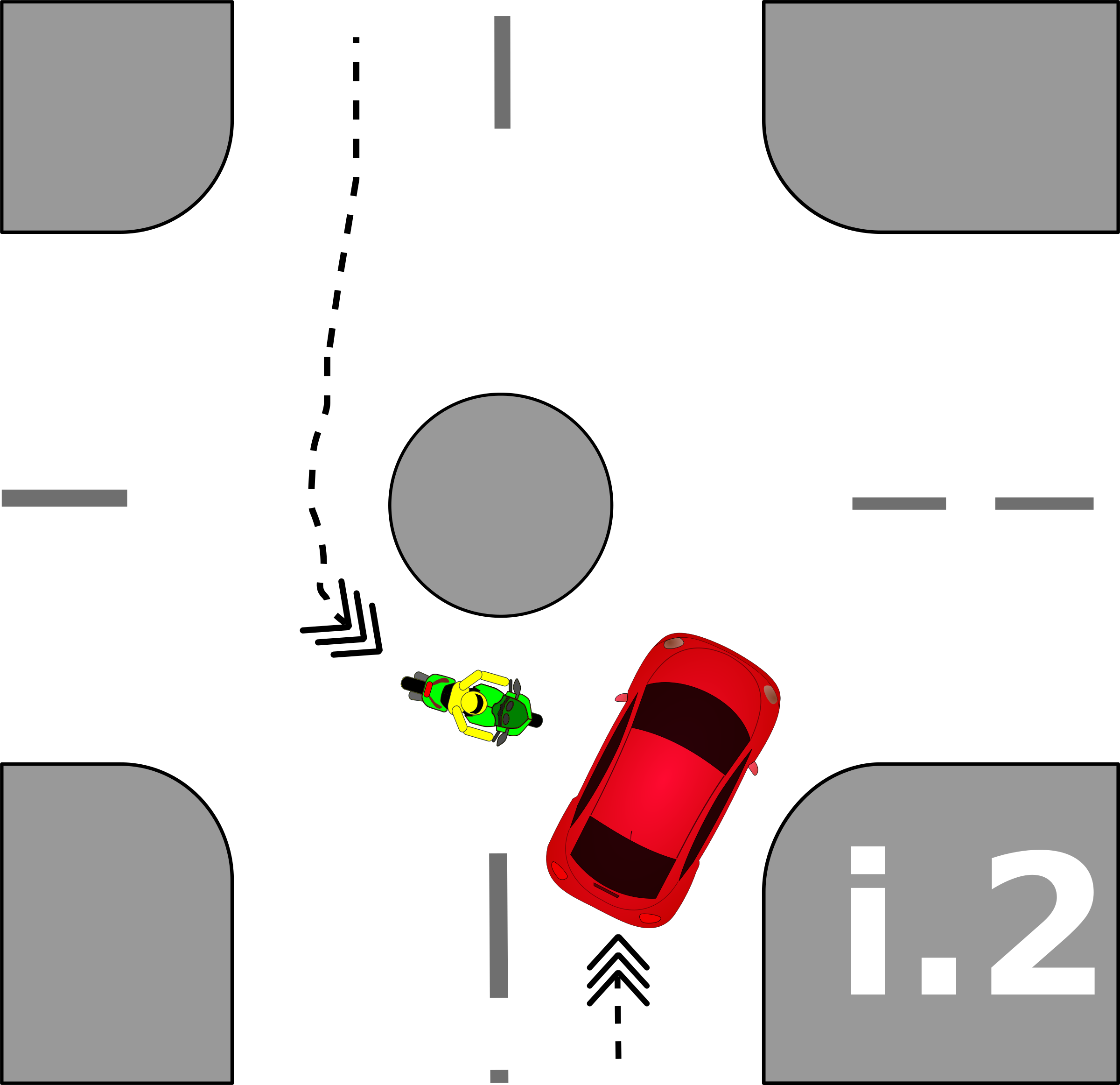 traffic accident pictograms i.2 by Gusta