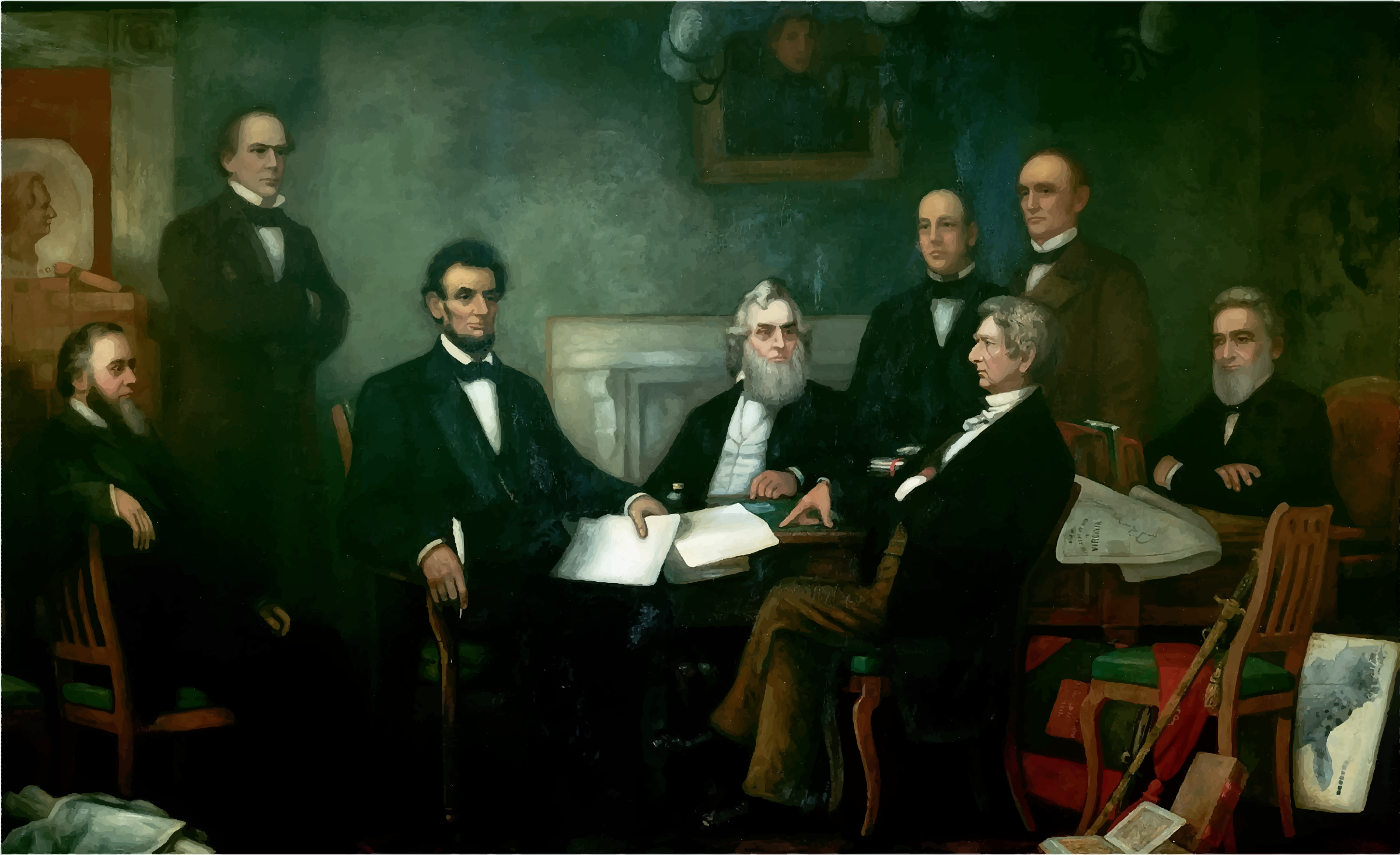 First Reading of the Emancipation Proclamation of President Lincoln by GDJ