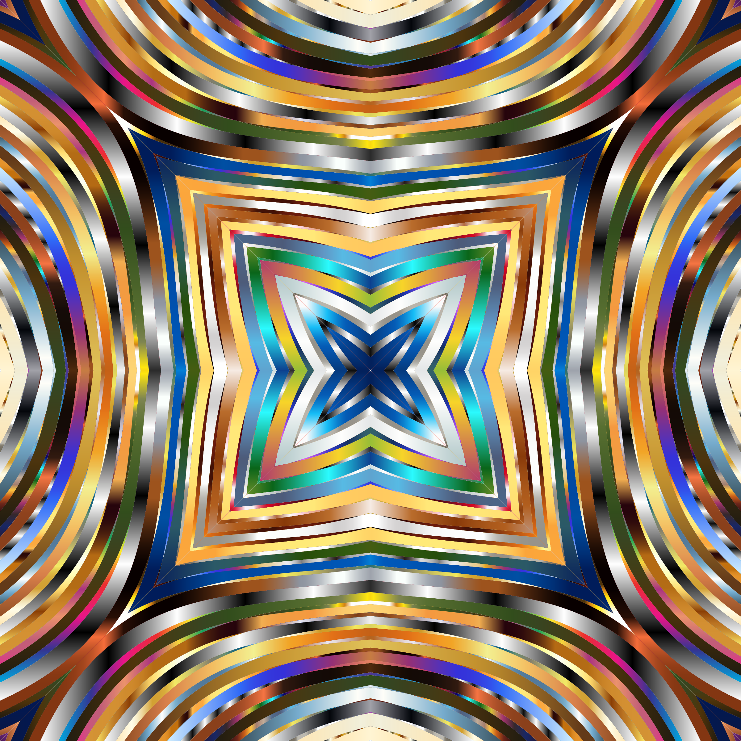 Psychedelic Square by GDJ