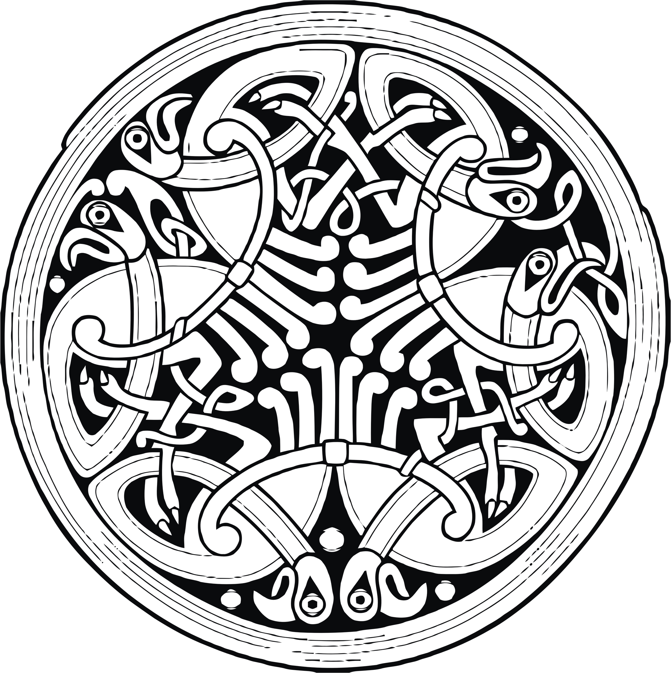 Celtic Ornamental Circle by GDJ