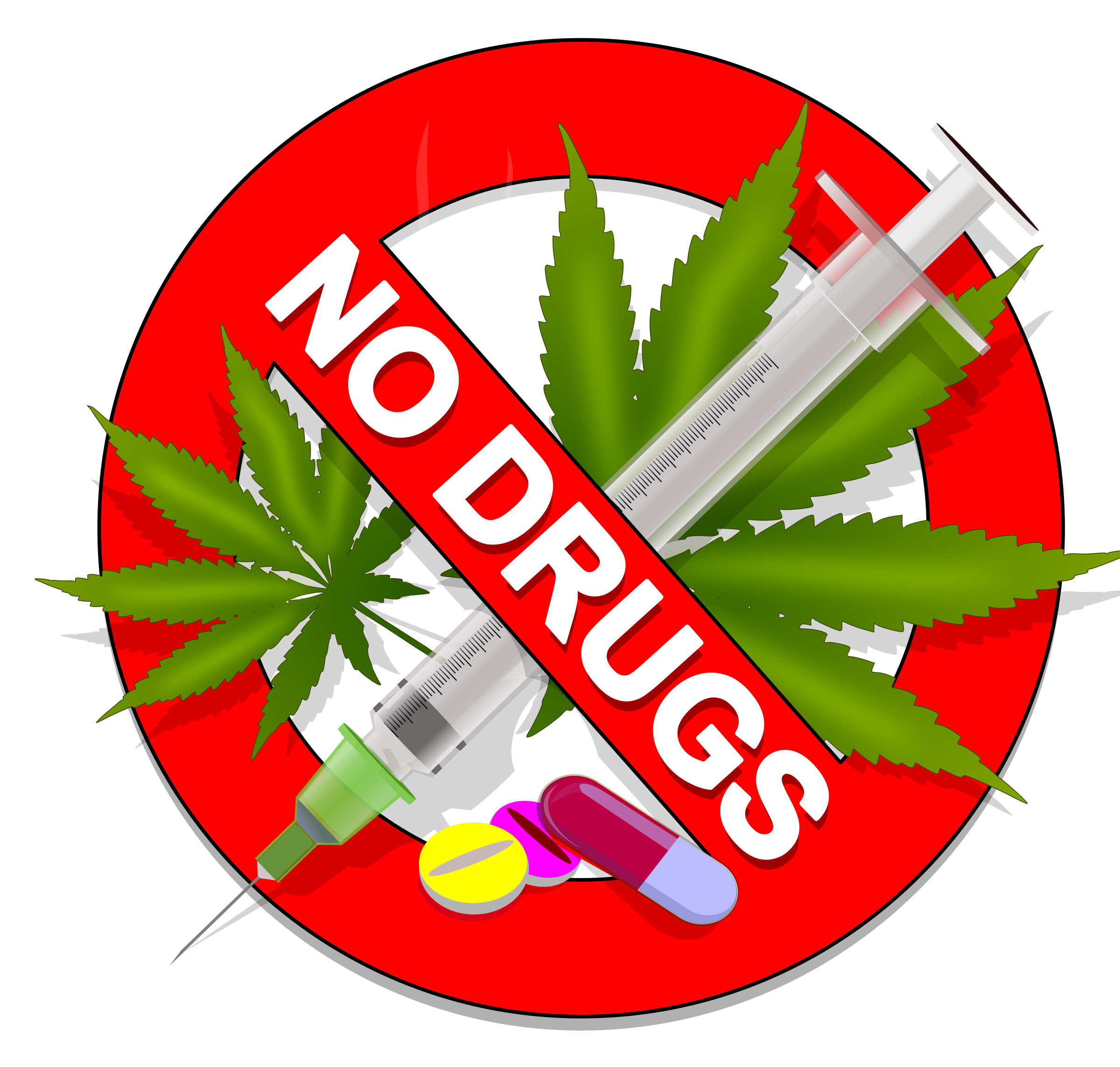 No Drugs: Weed, Speed or Pills! by jonathan357