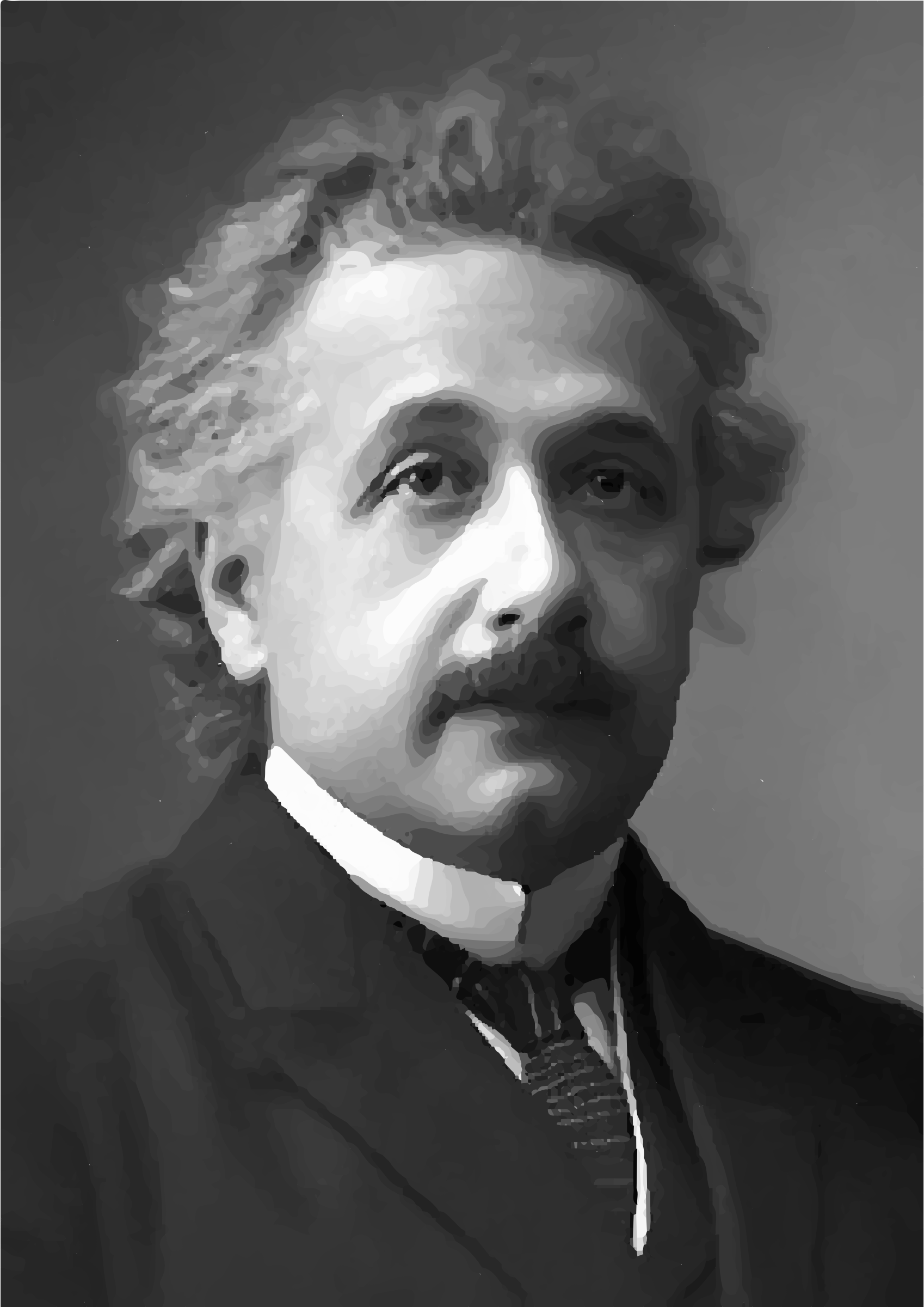 Einstein 1921 by GDJ
