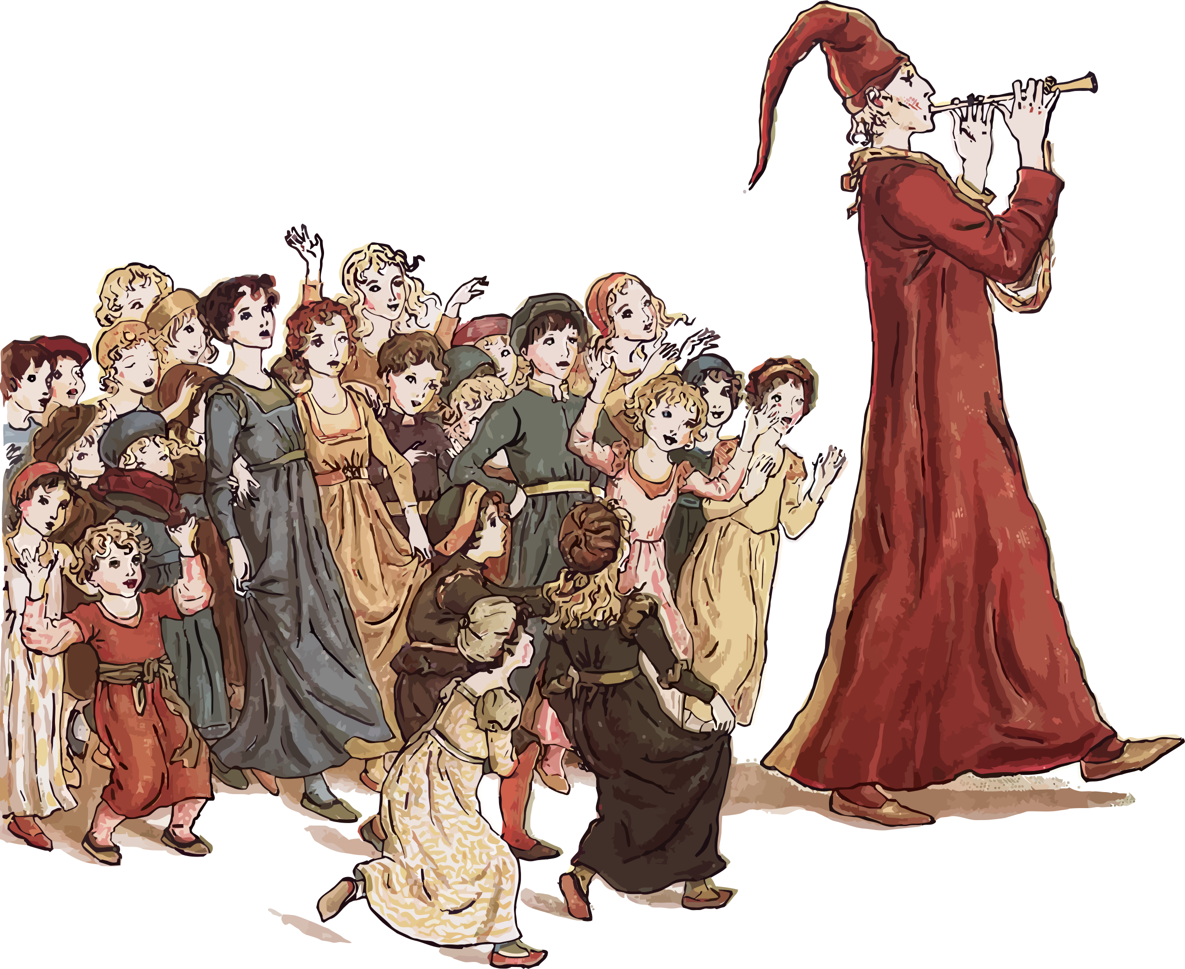 Pied Piper Of Hamelin by GDJ