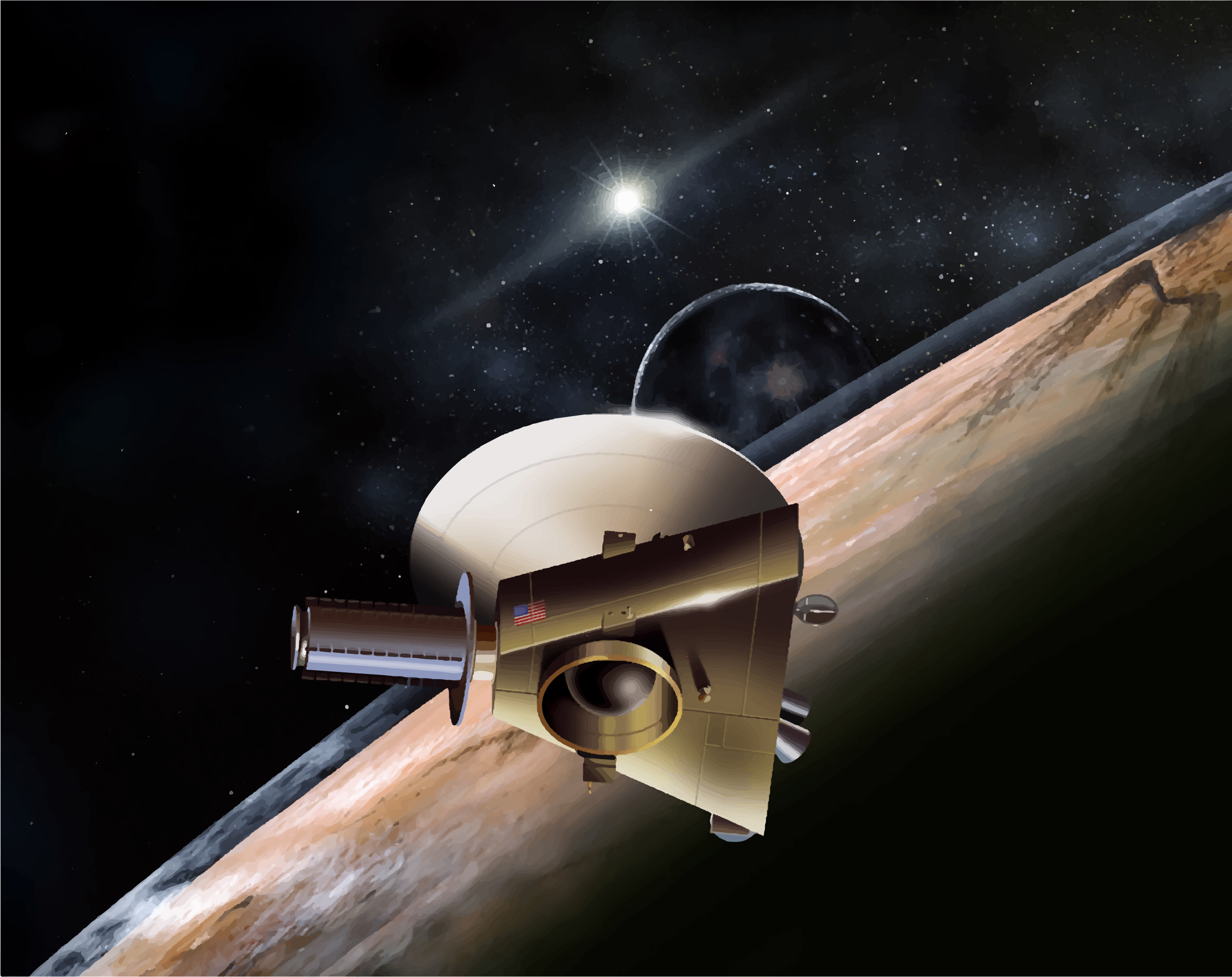 flyby spacecraft and pluto - photo #19