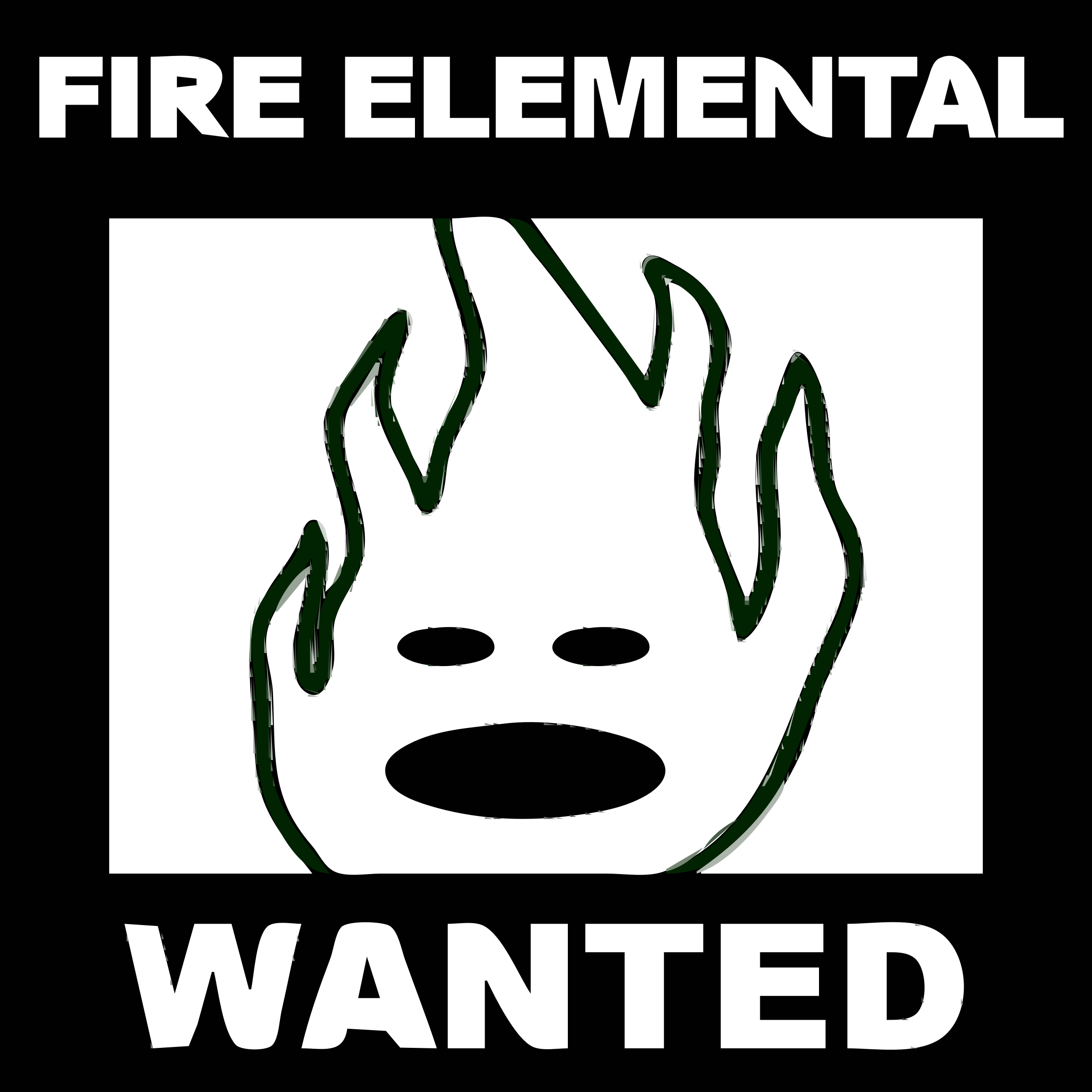 [request] Character 6 - FIRE ELEMENTAL by speedstar