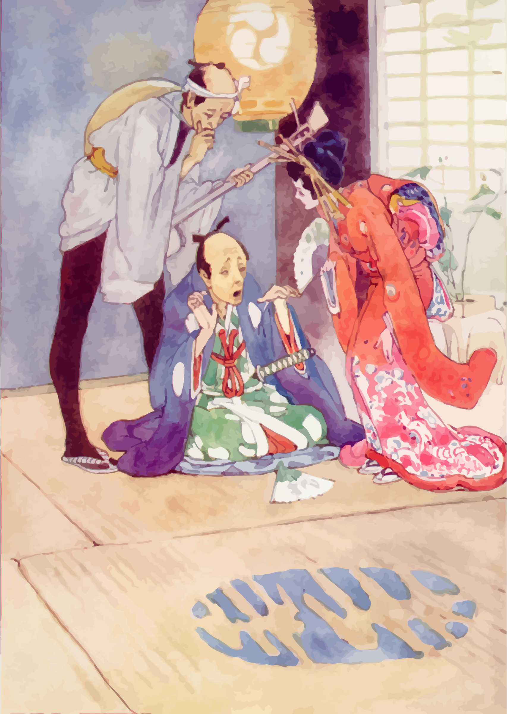 The Story Of The Mikado by GDJ