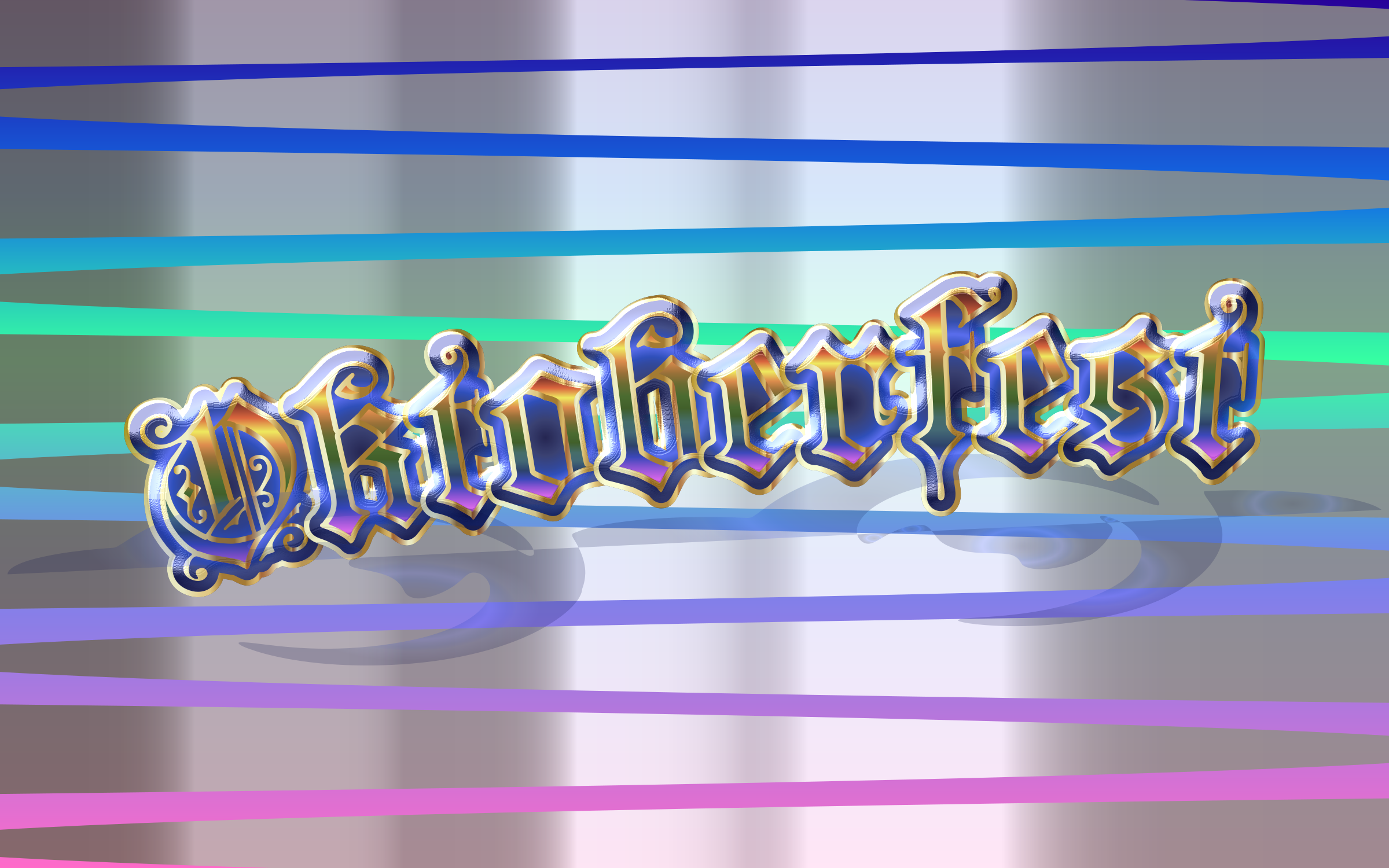 Oktoberfest Typography Shiny by GDJ