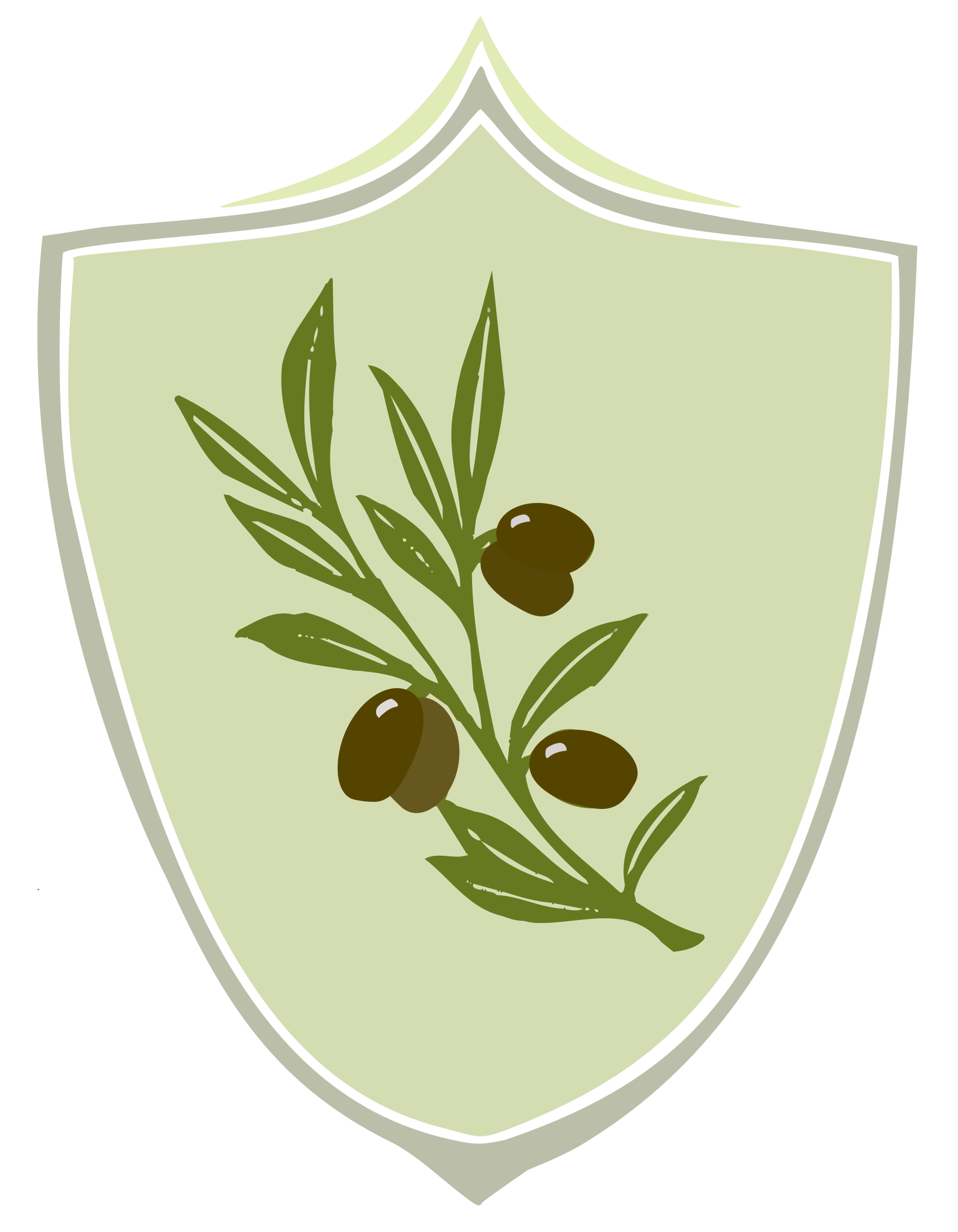 Olive coat of arms by Trostereiret