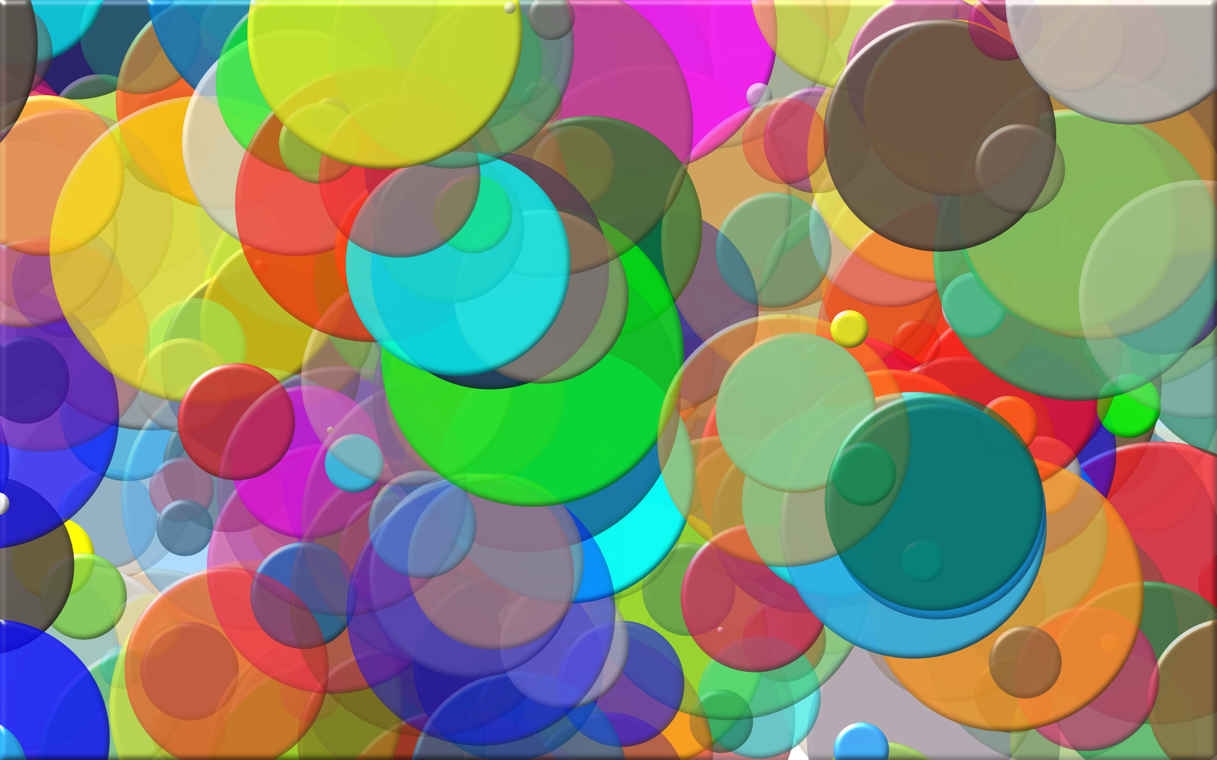 Overlapping Circles Background 2 by GDJ