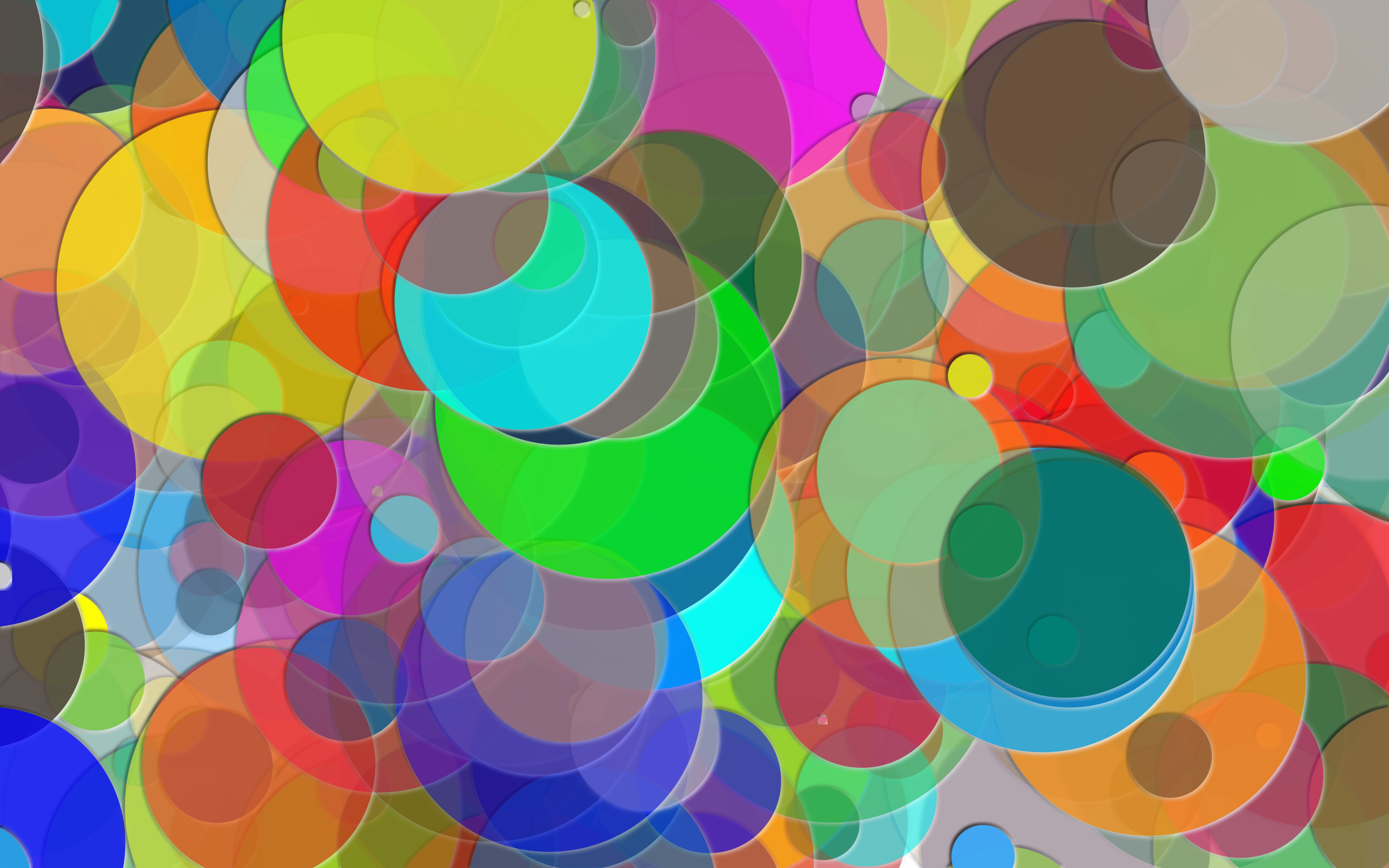 Overlapping Circles Background 3 by GDJ