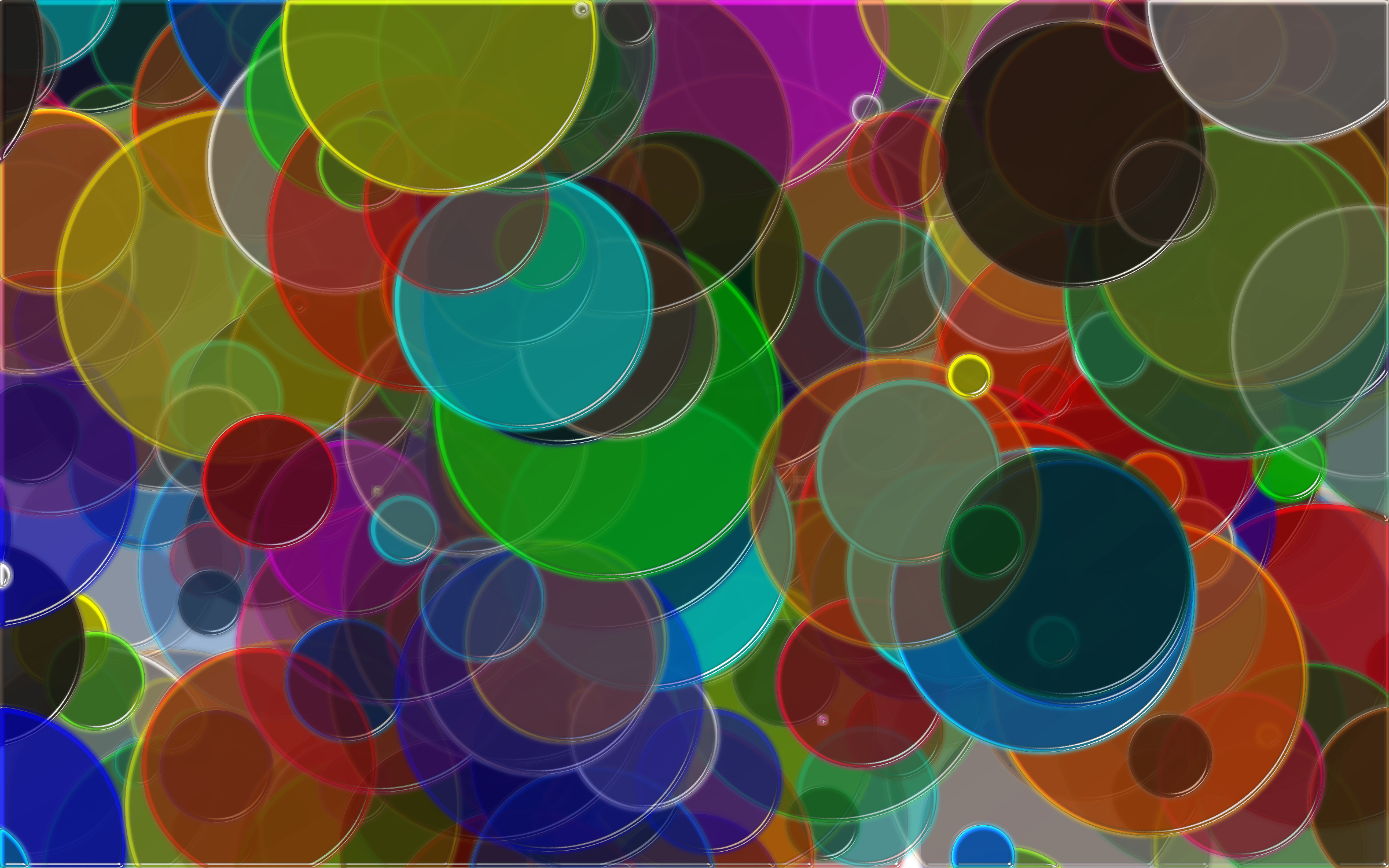 Clipart - Overlapping Circles Background 4