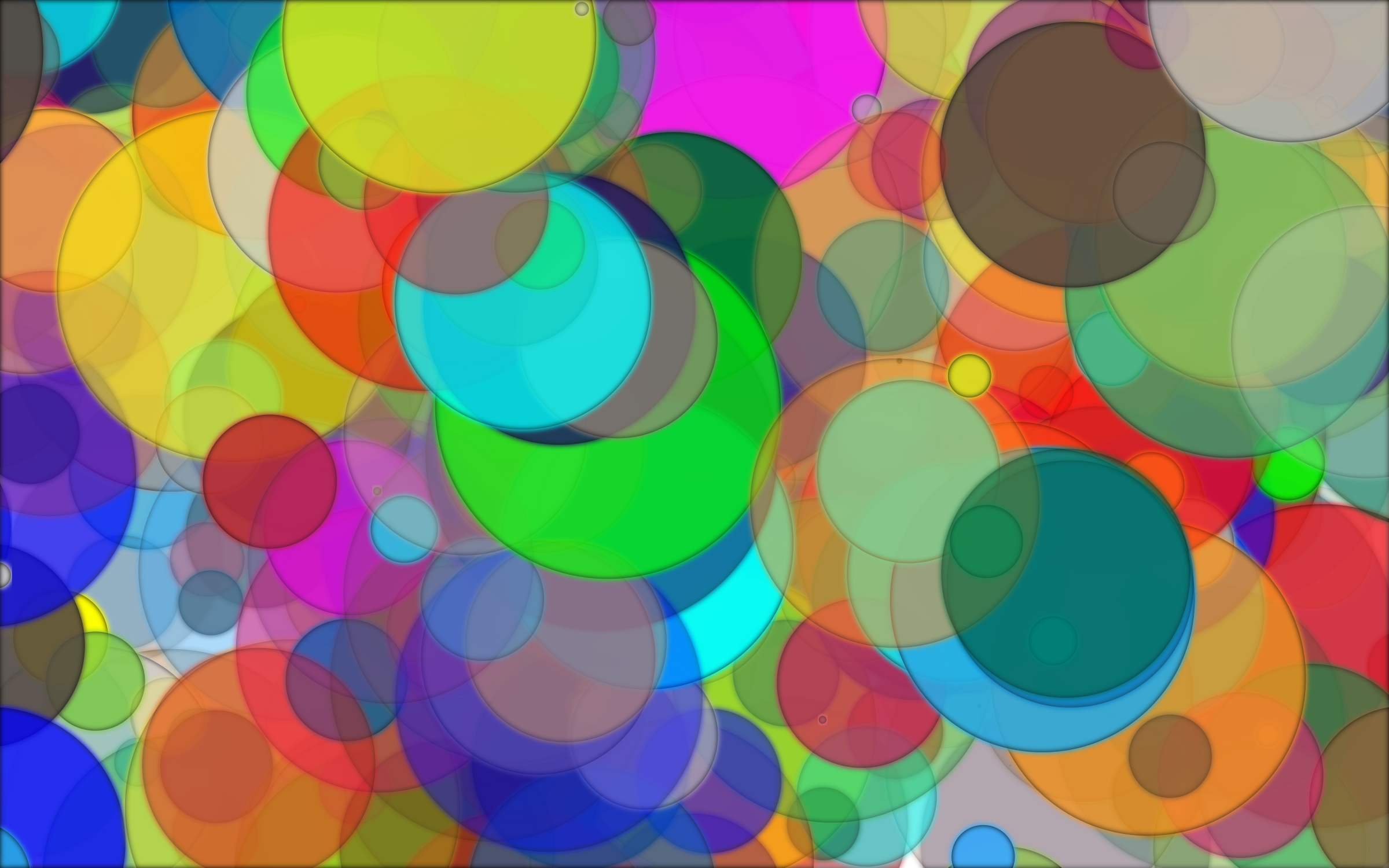 Overlapping Circles Background 7 by GDJ