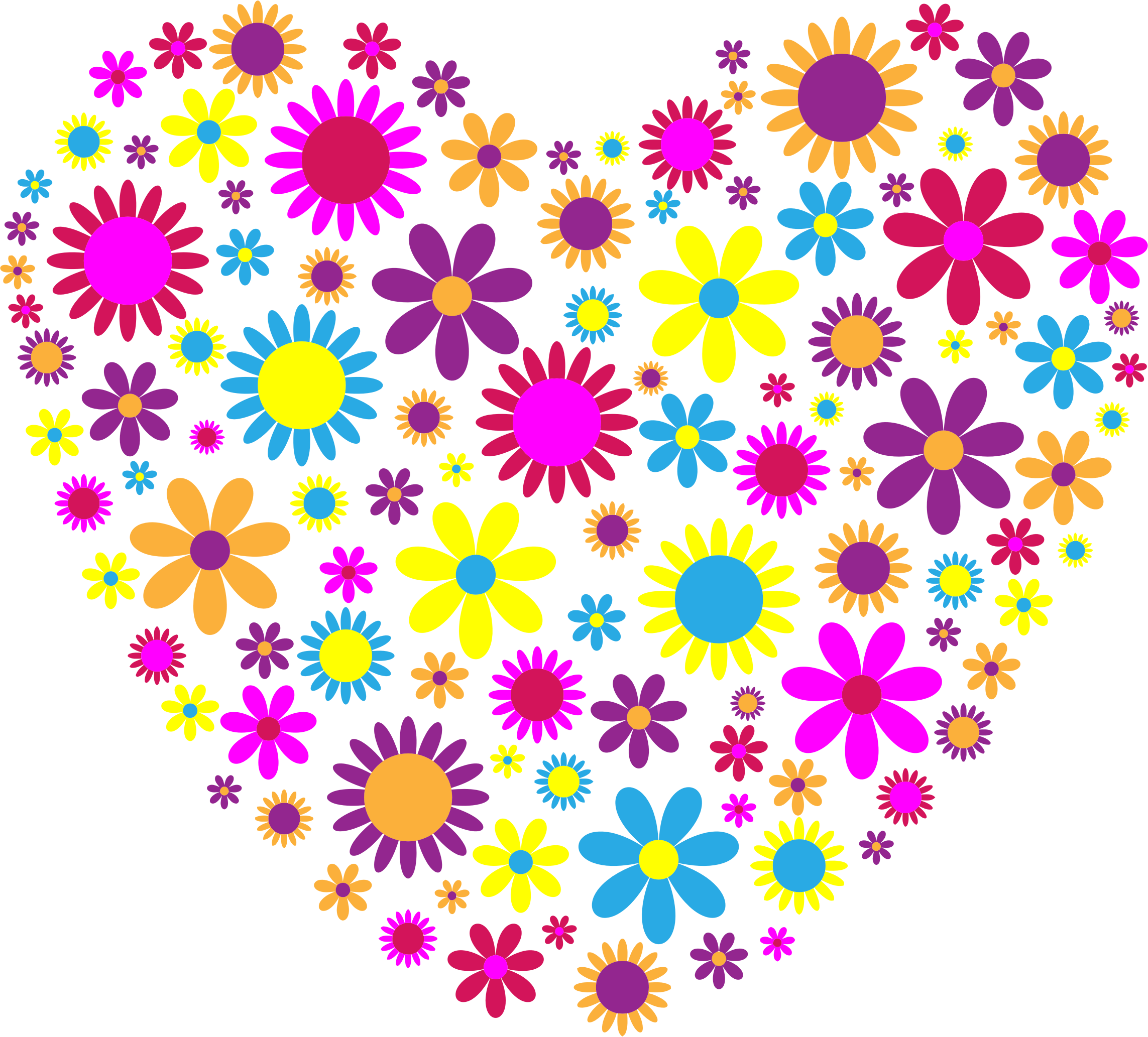 Floral Heart by GDJ