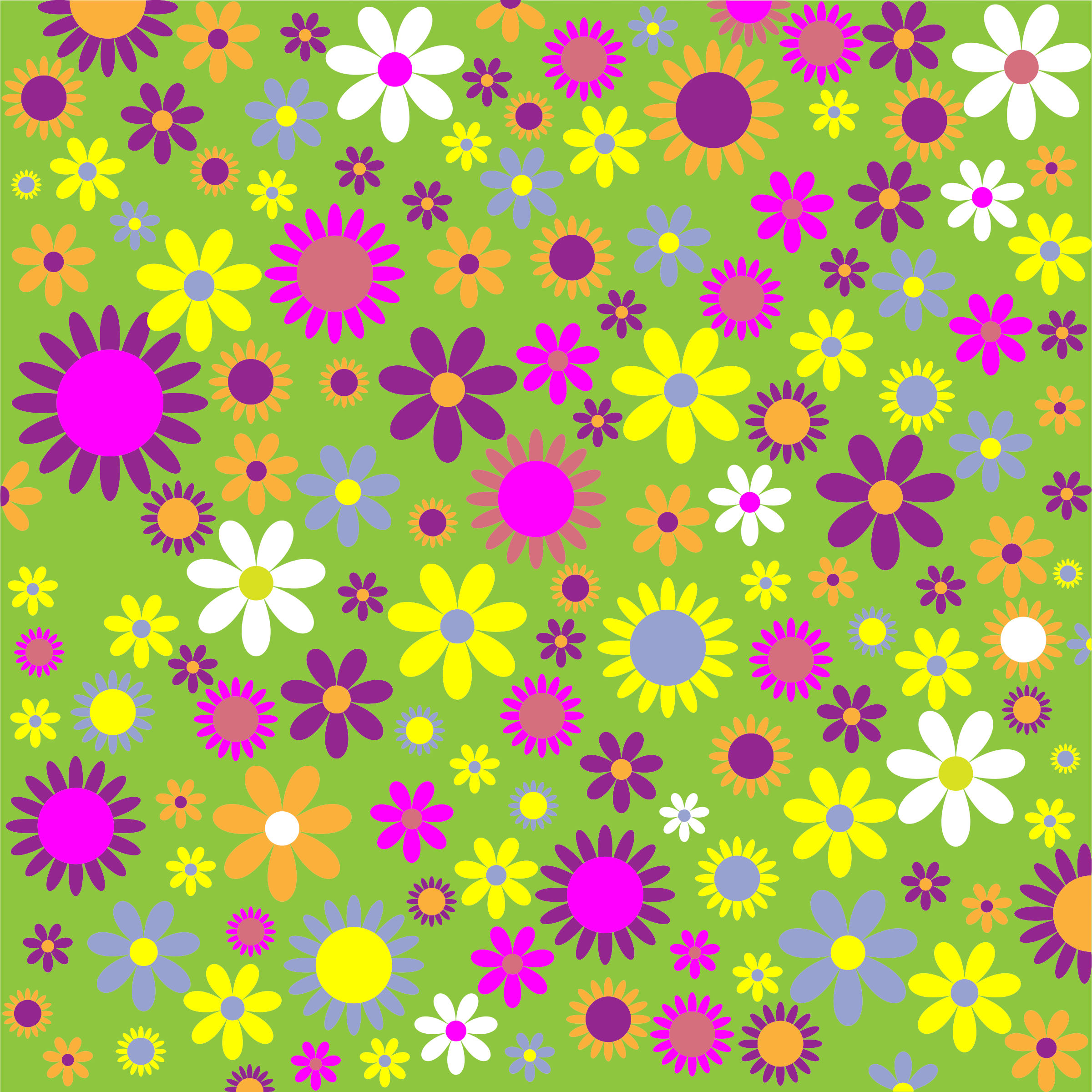 colorful floral background patterns - photo #1