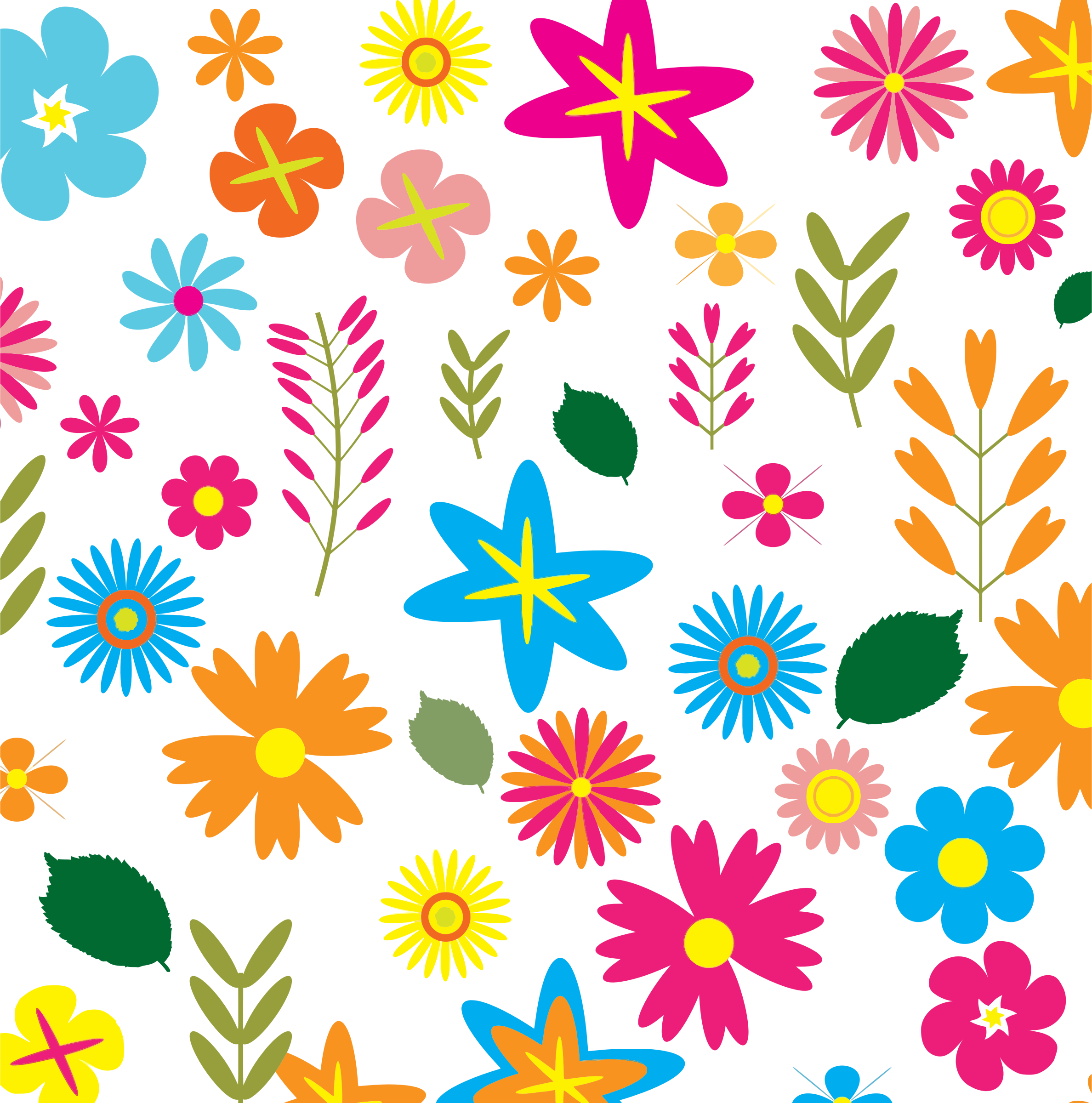 colorful floral background patterns - photo #2
