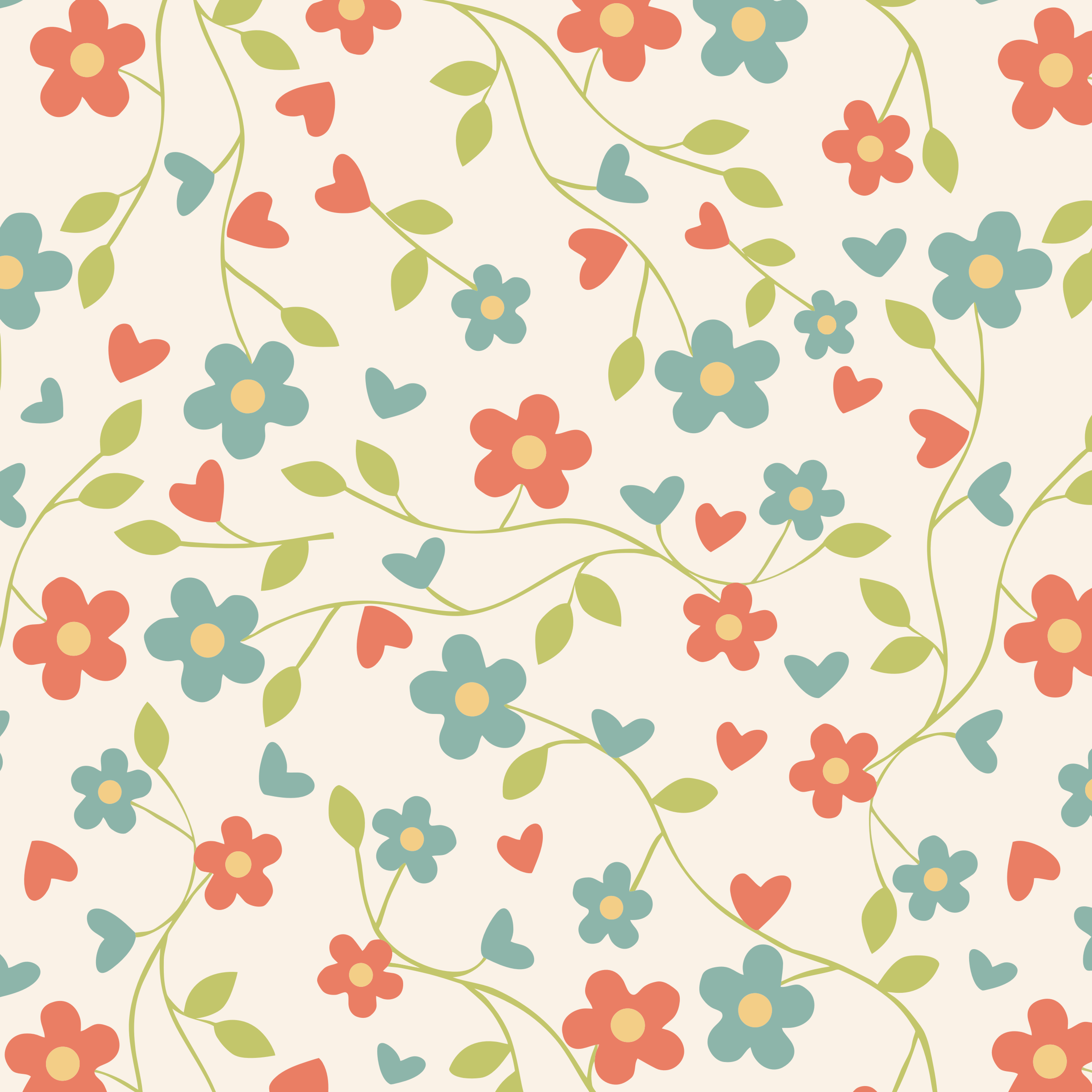 colorful floral background patterns - photo #3