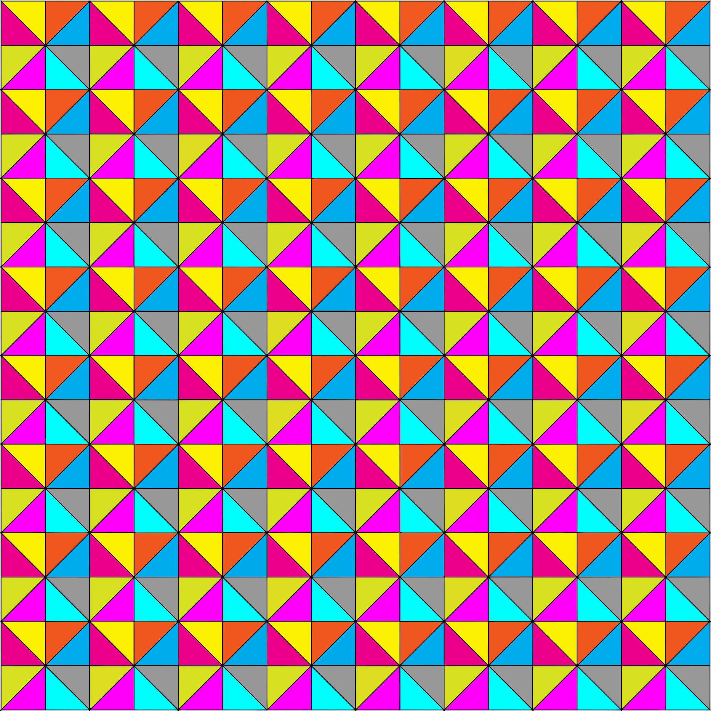Colorful Geometric Pattern Background by GDJ