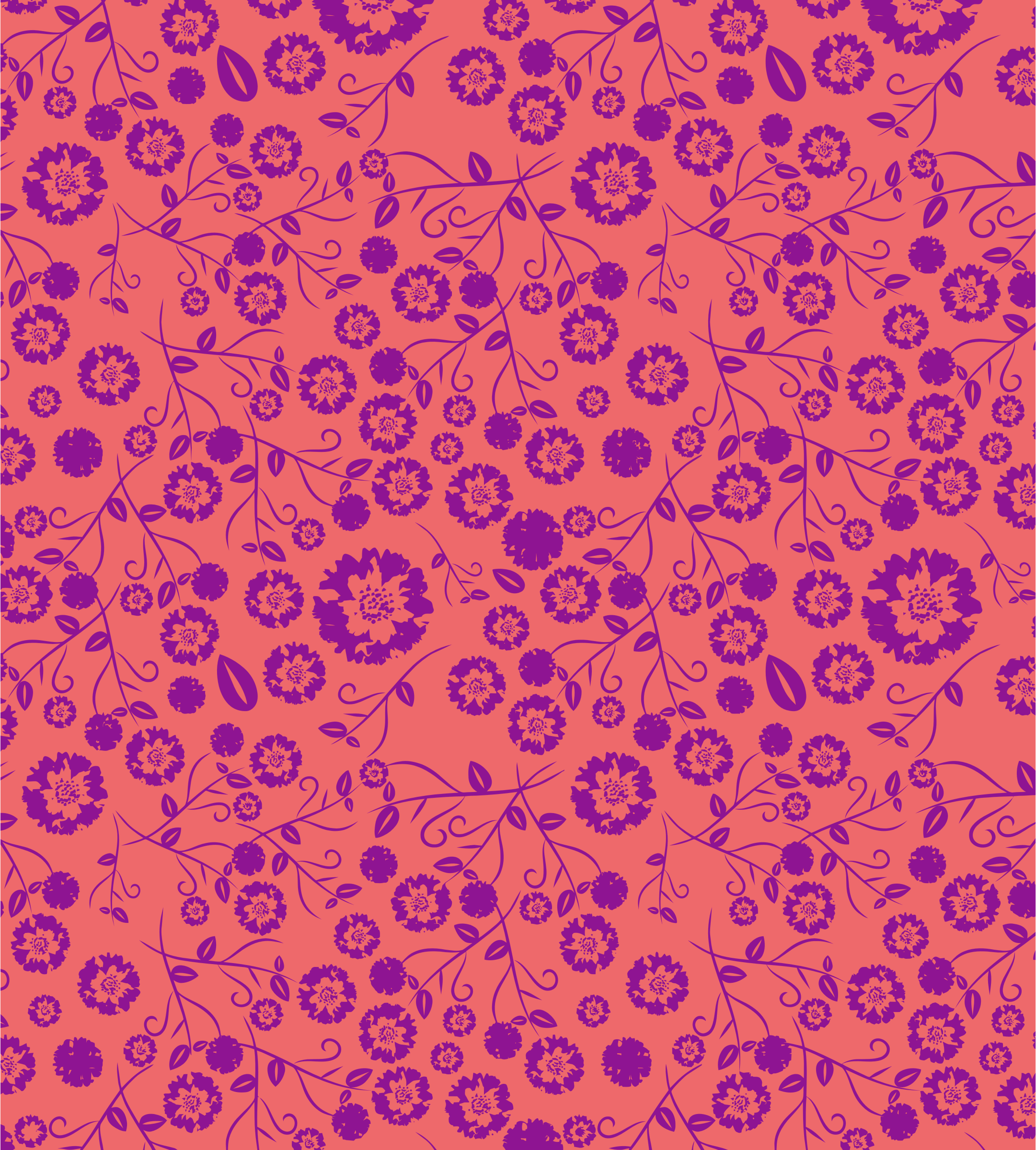 Vintage Seamless Floral Pattern by GDJ