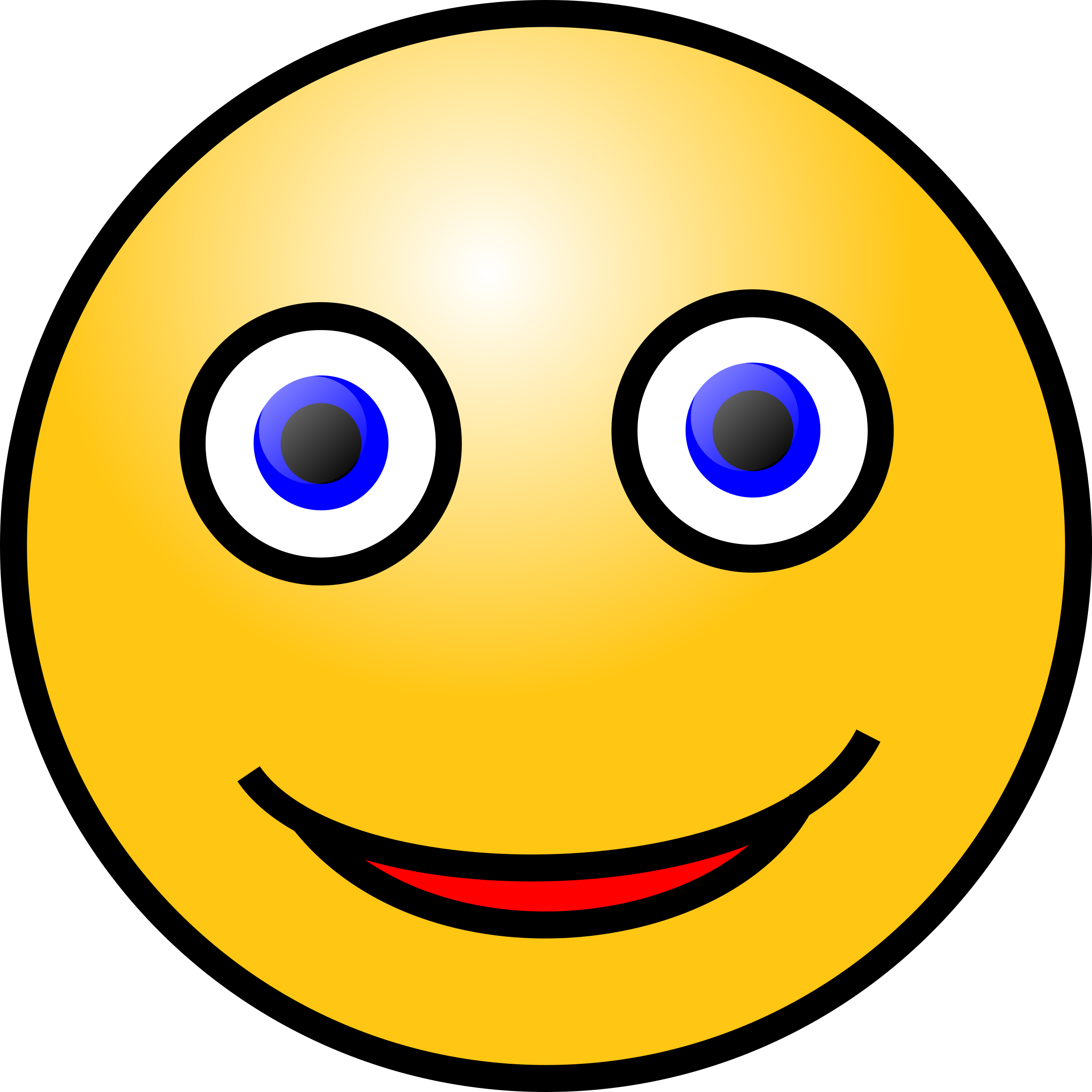 Emoticons: Smiling face by nicubunu