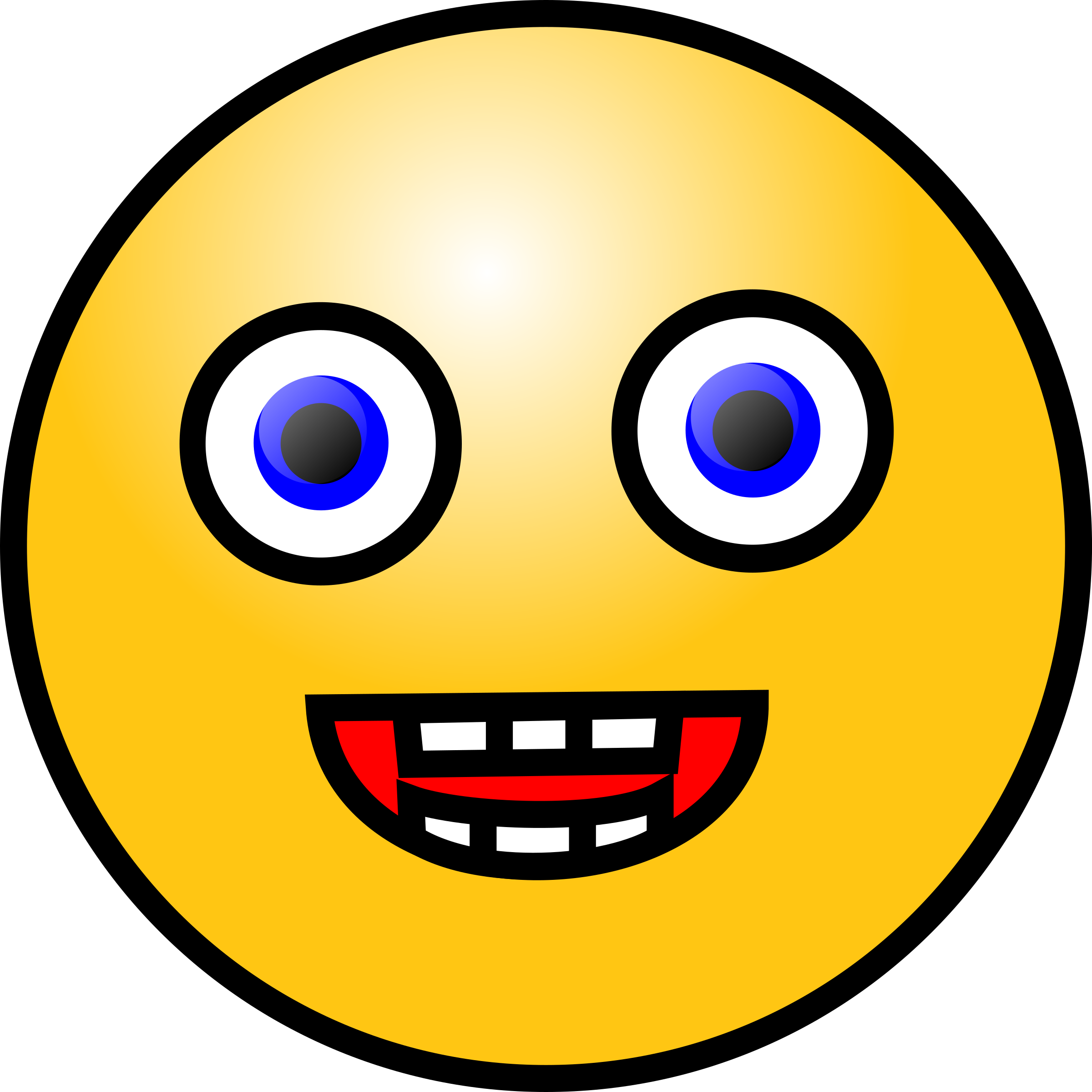 Emoticons: Laughing face by nicubunu