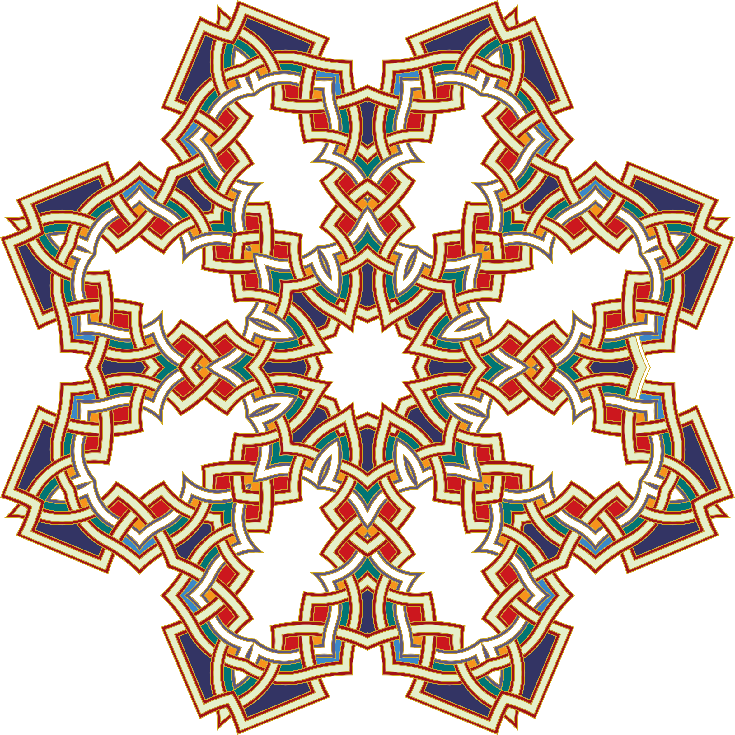 Islamic Geometric Art 2 by GDJ