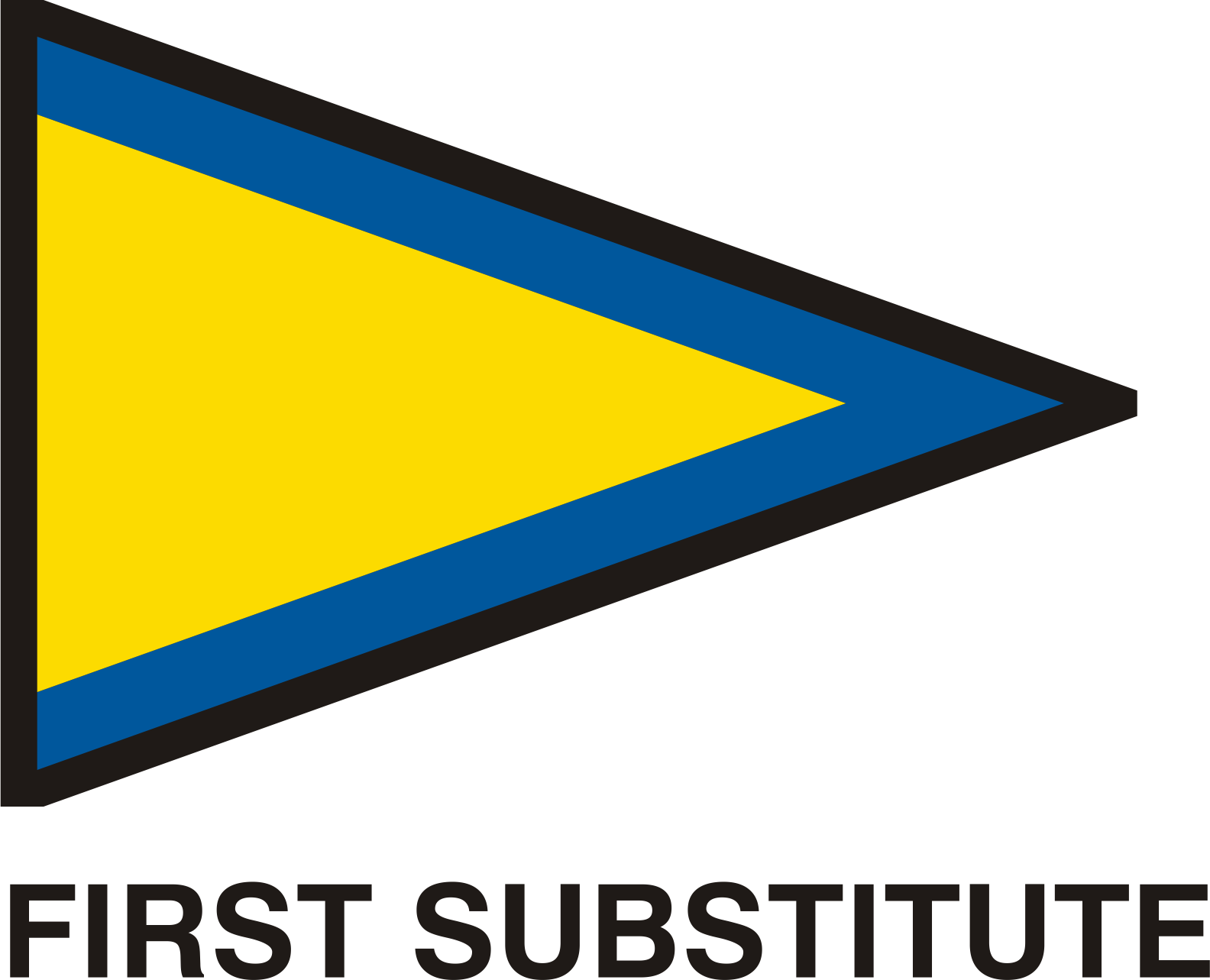 Gran Pavese flags, First Substitute flag by Vanja