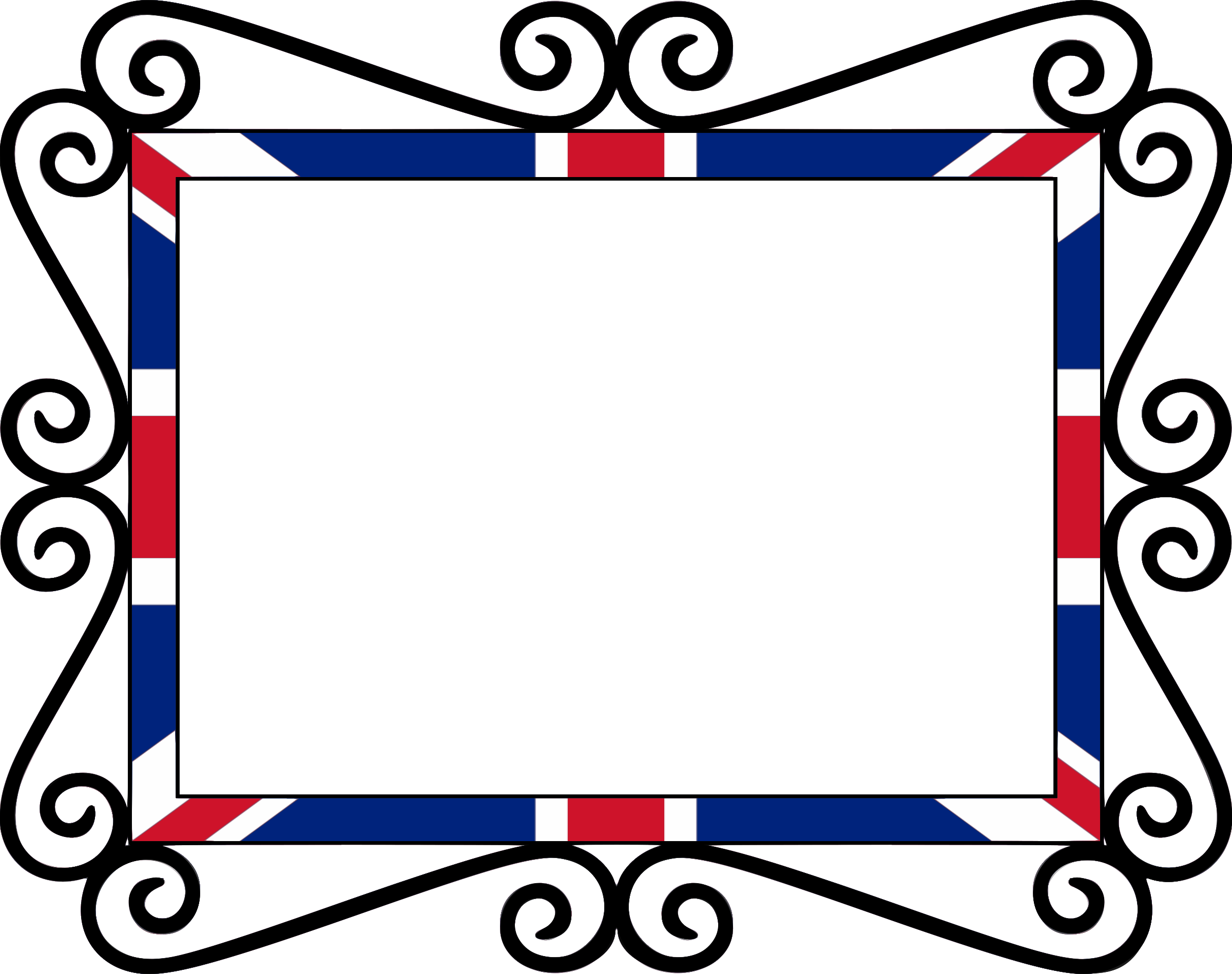 UK Union Flag Frame Fixed by Firkin