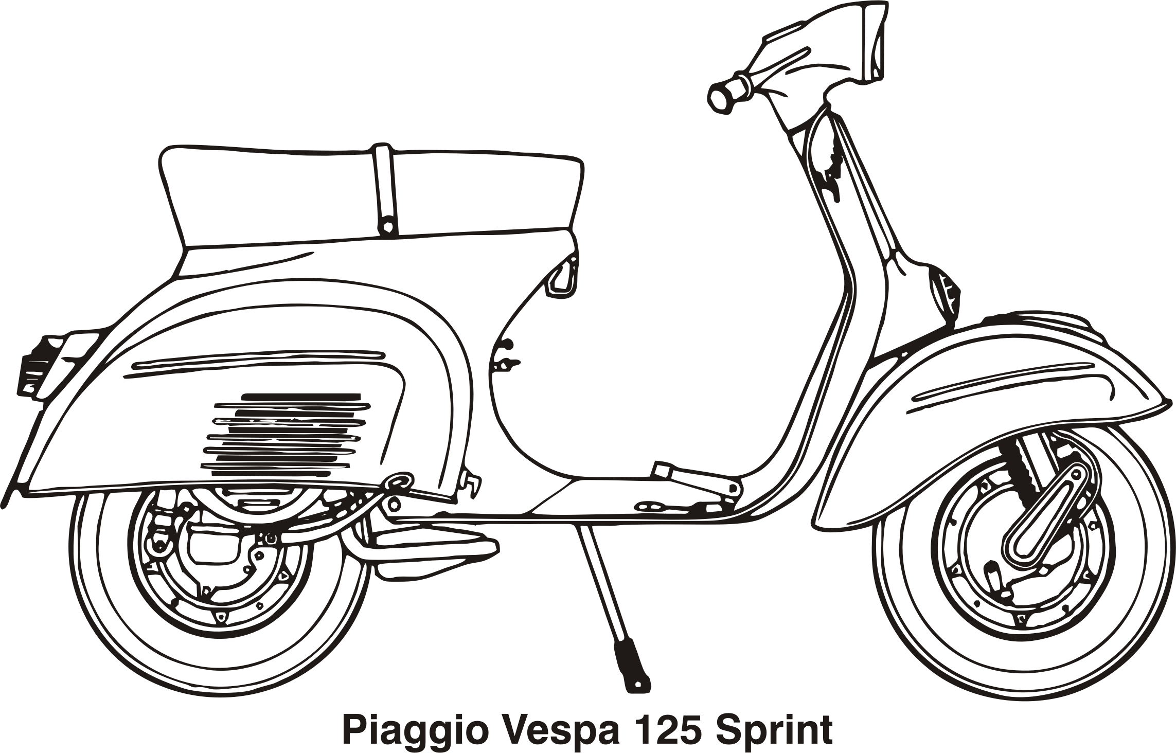 Piaggio Vespa 125 Sprint, year 1969 by Vanja