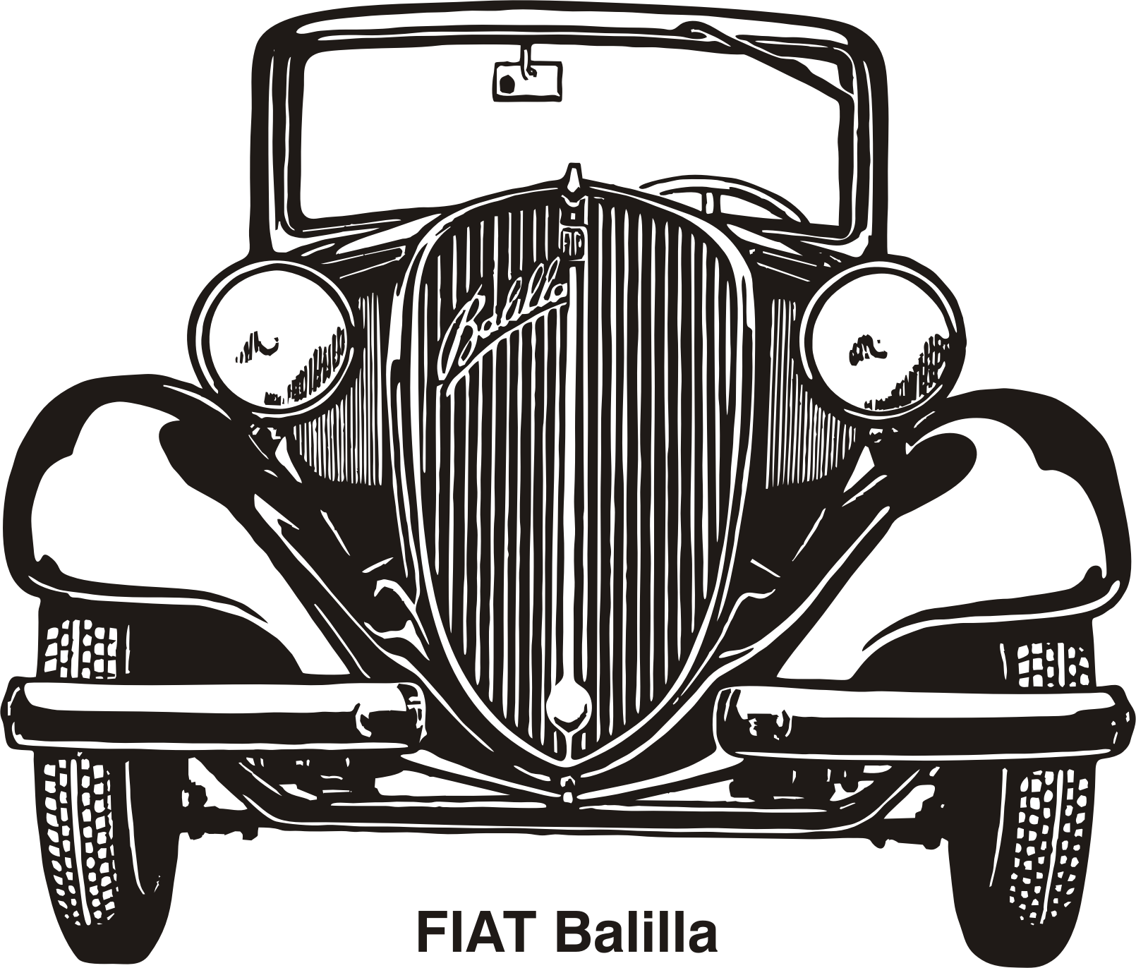 Fiat Balilla, year 1937 by Vanja