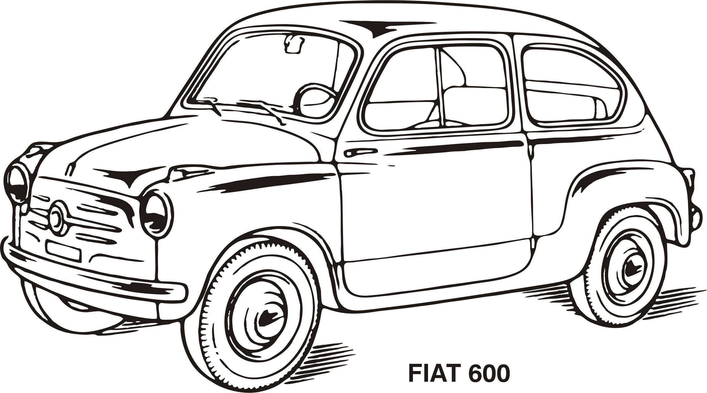 Fiat 600, year 1955 by Vanja