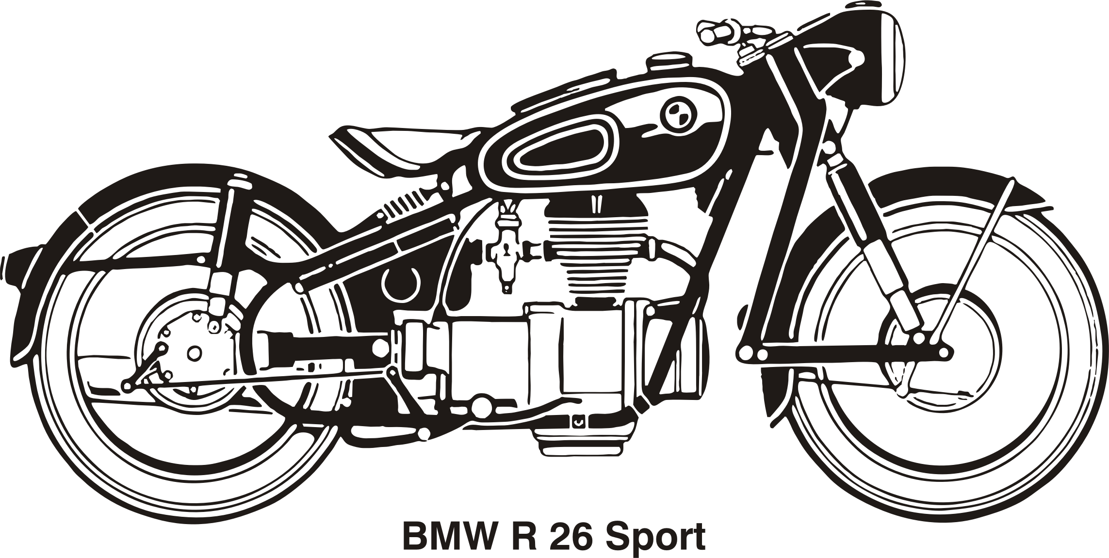 BMW R26 Sport, year 1956 by Vanja