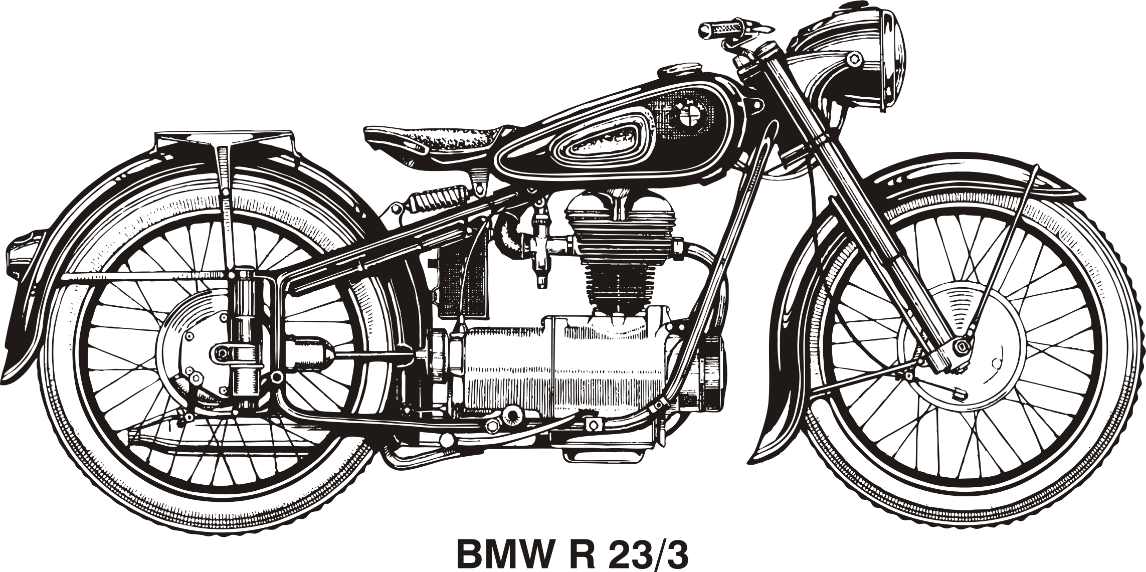 BMW R25/3, year 1953 by Vanja