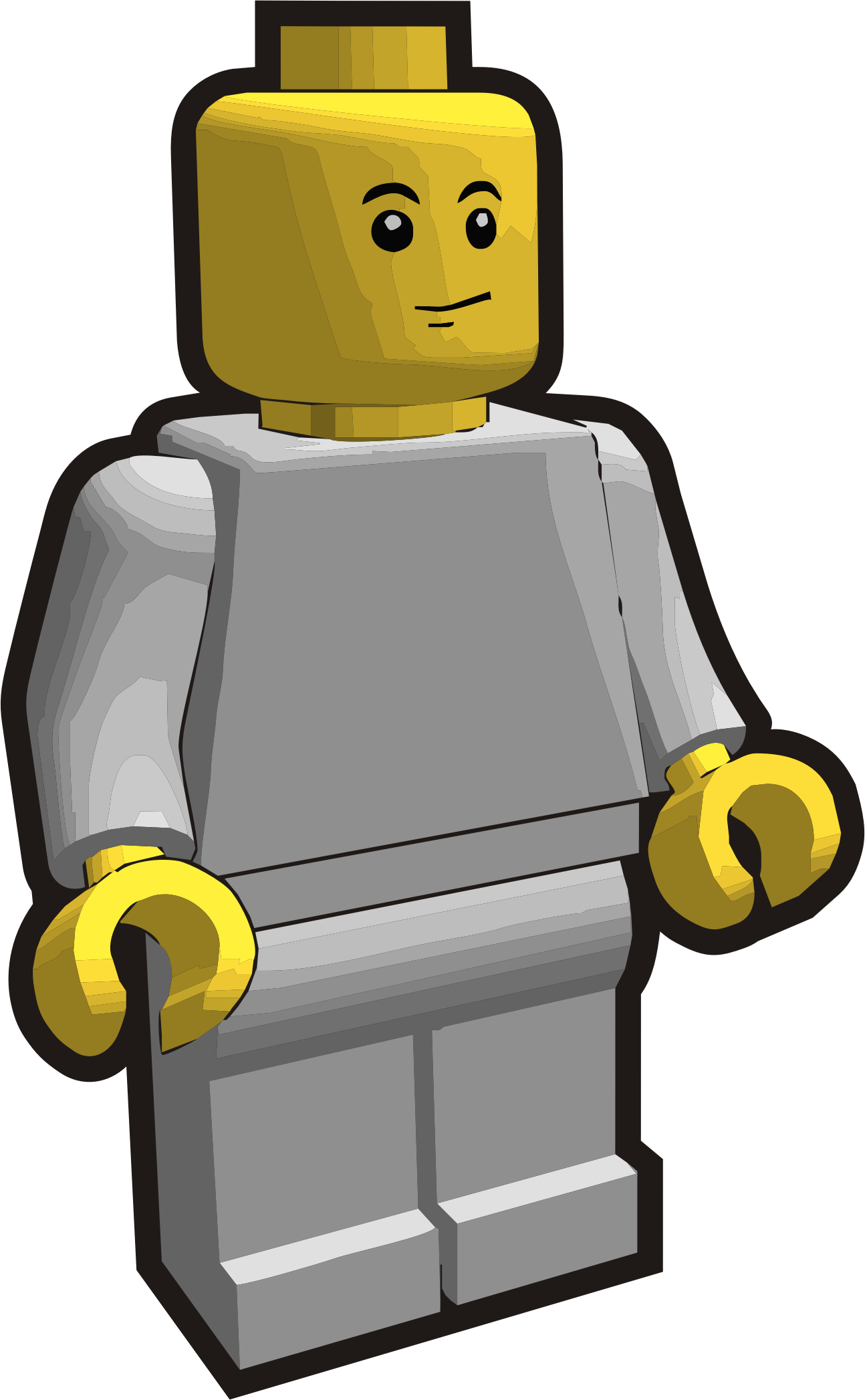 Clip is a Brick - Minifig 6 by Vanja