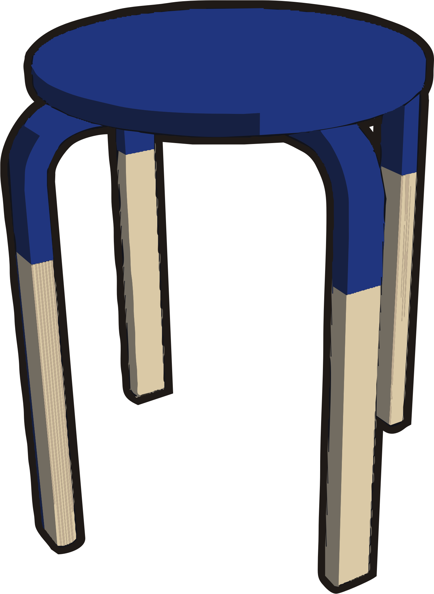 clipart ikea stuff frosta stool half blue navy. Black Bedroom Furniture Sets. Home Design Ideas