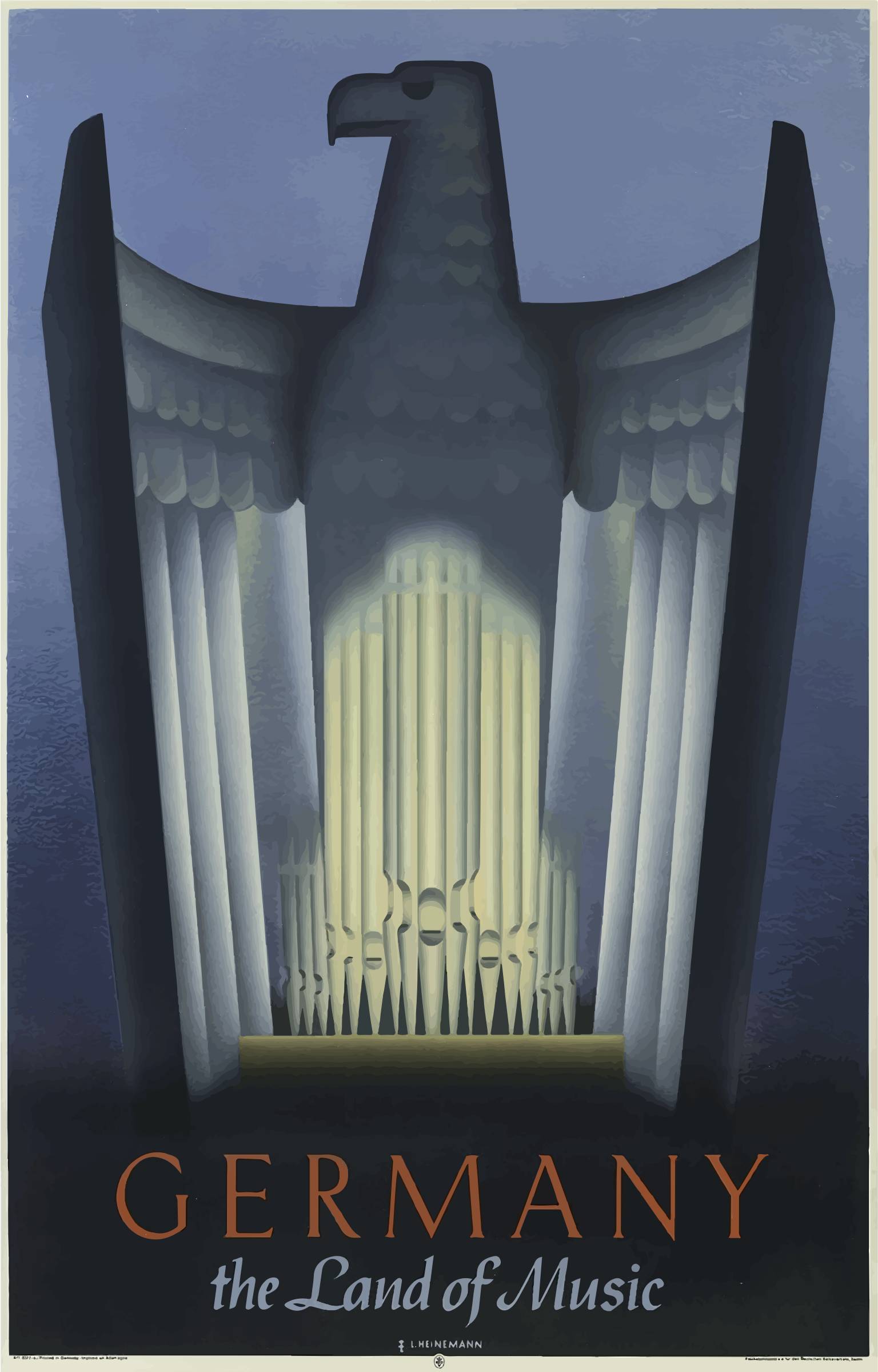 Vintage Travel Poster Germany 2 by GDJ