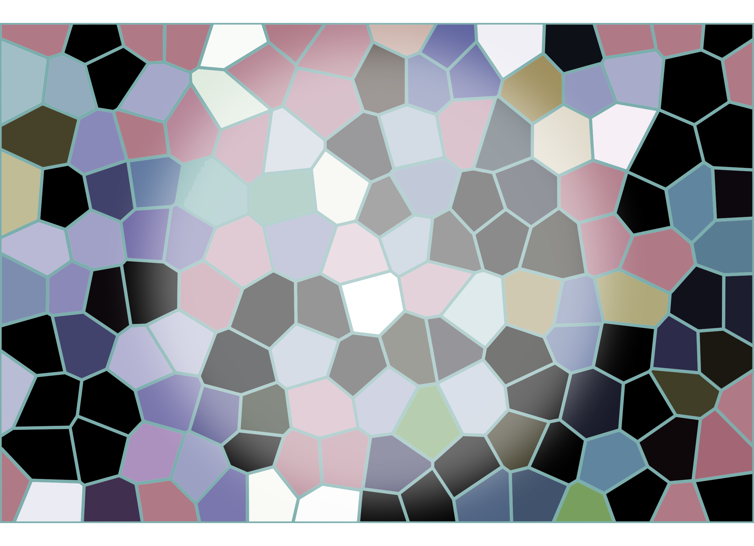 Abstract Mosaic Tiles Background by GDJ