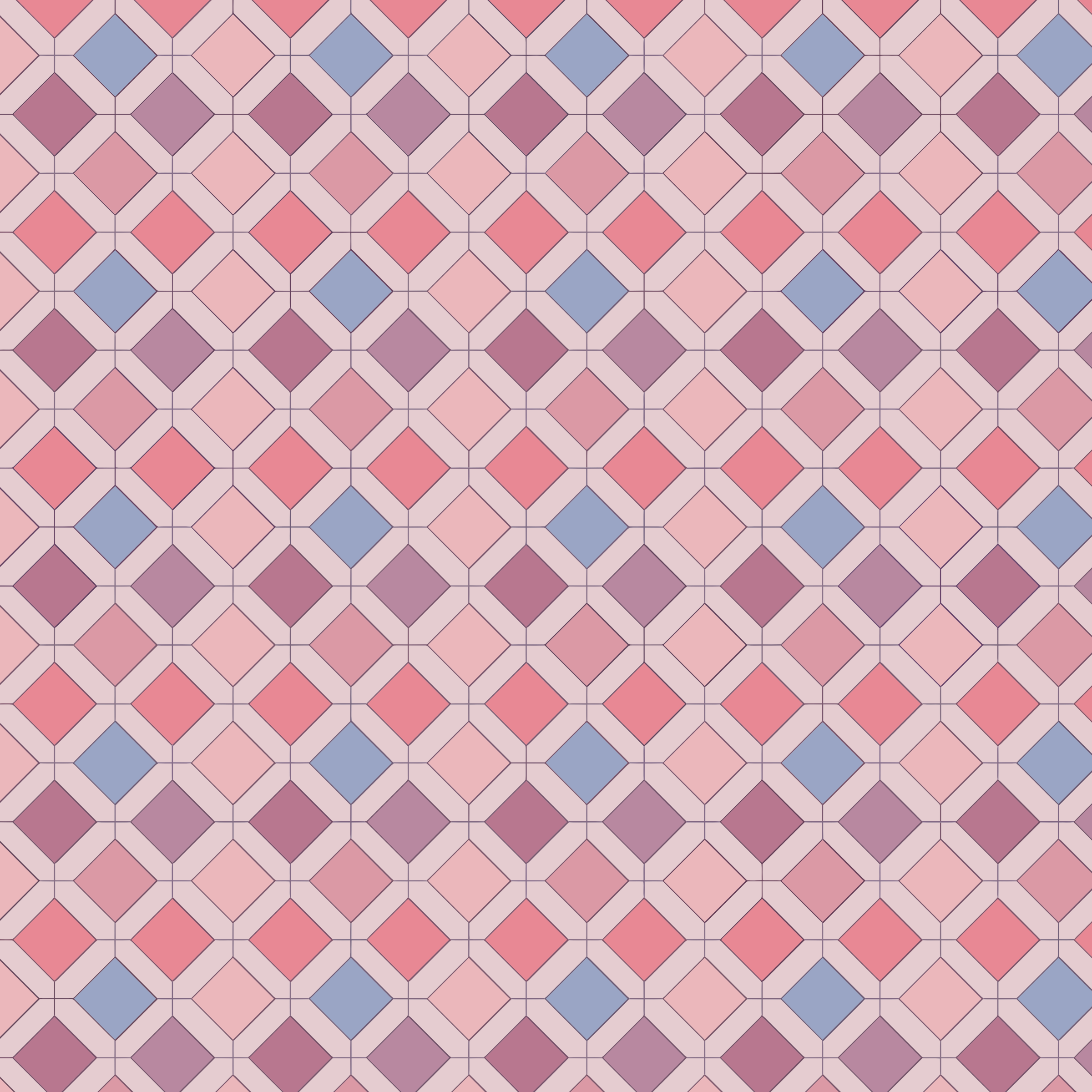 Abstract Pink Geometric Background by GDJ
