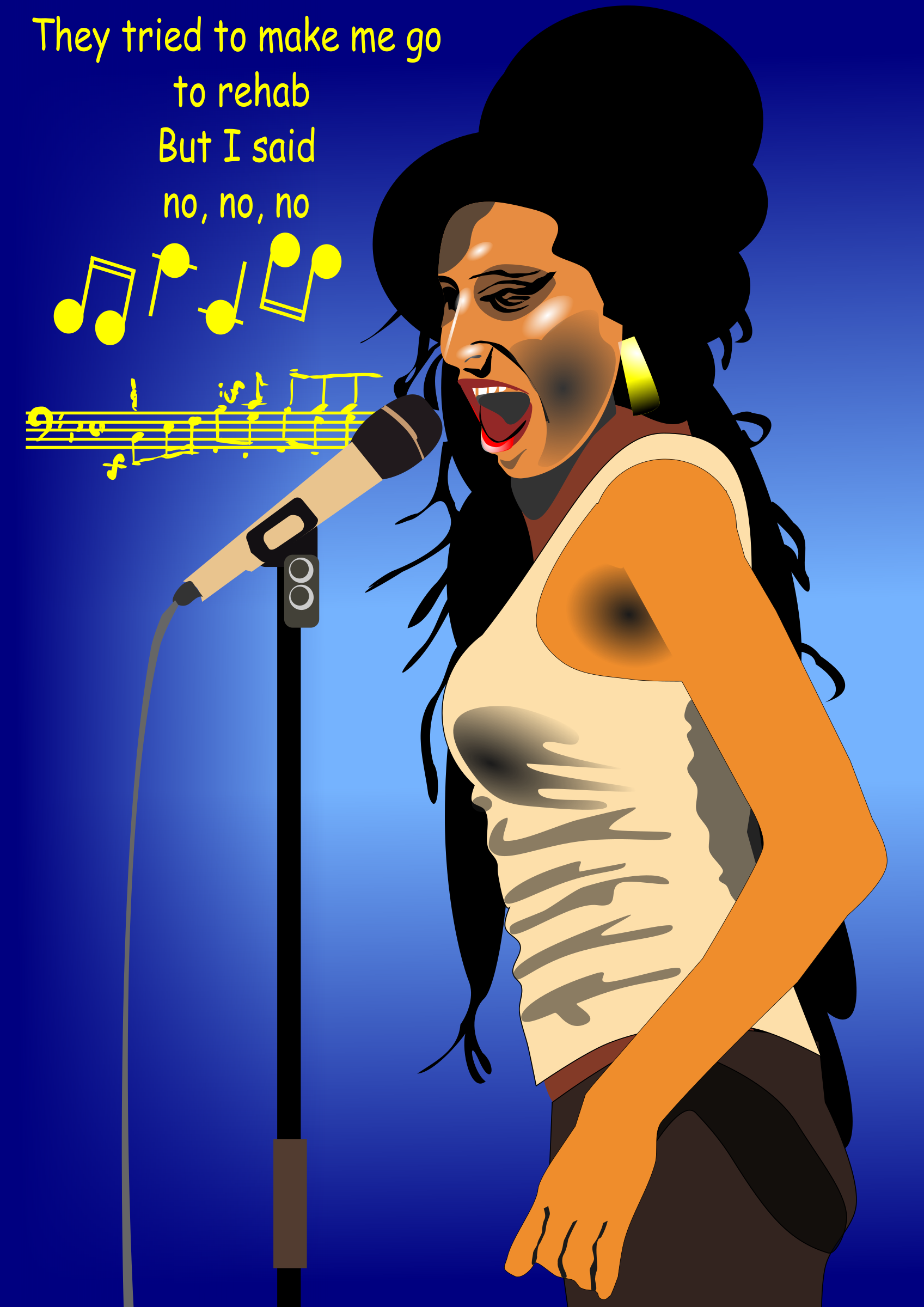 Amy Winehouse by user unknown