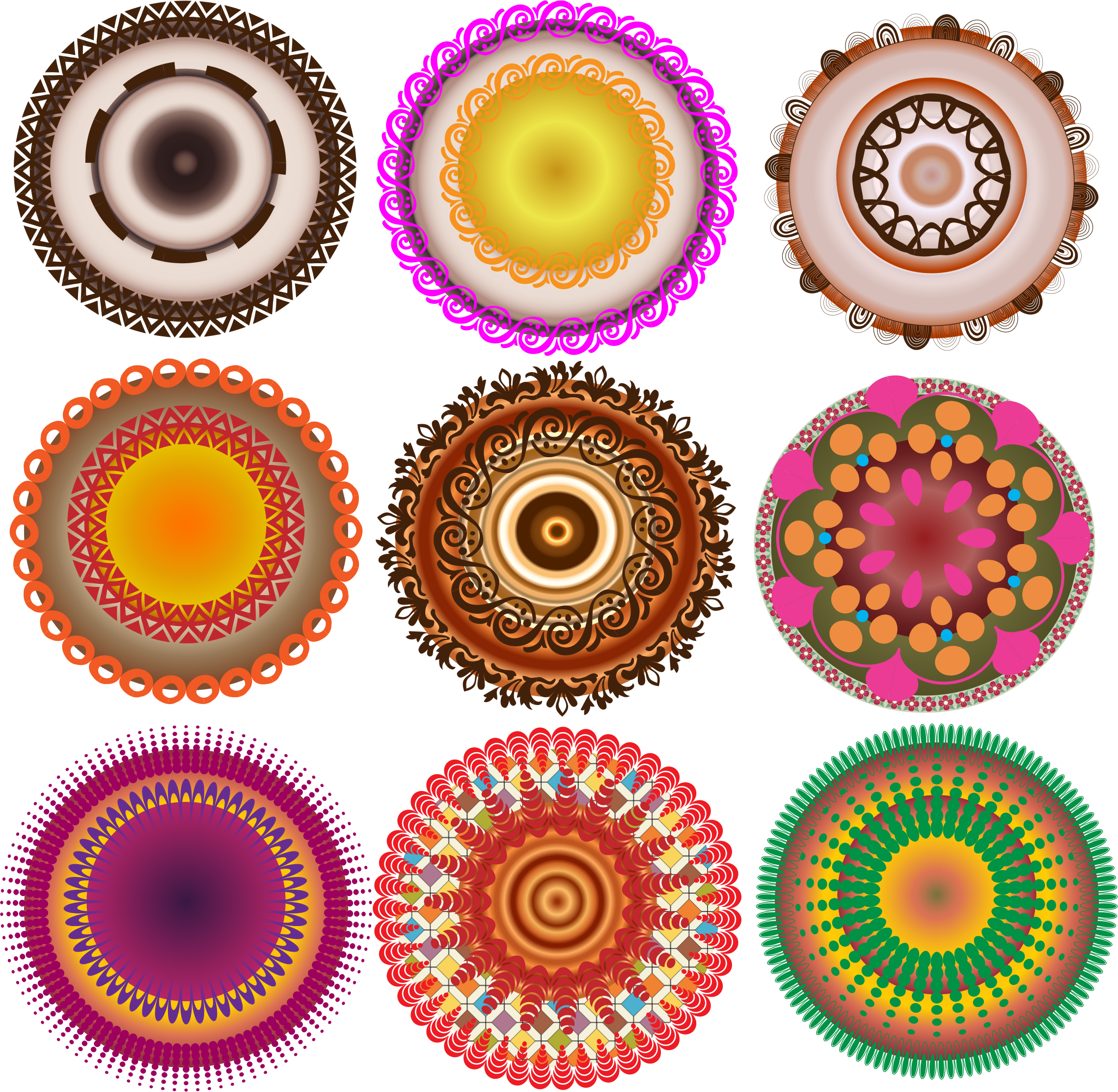 Decorative Circles by barbie40