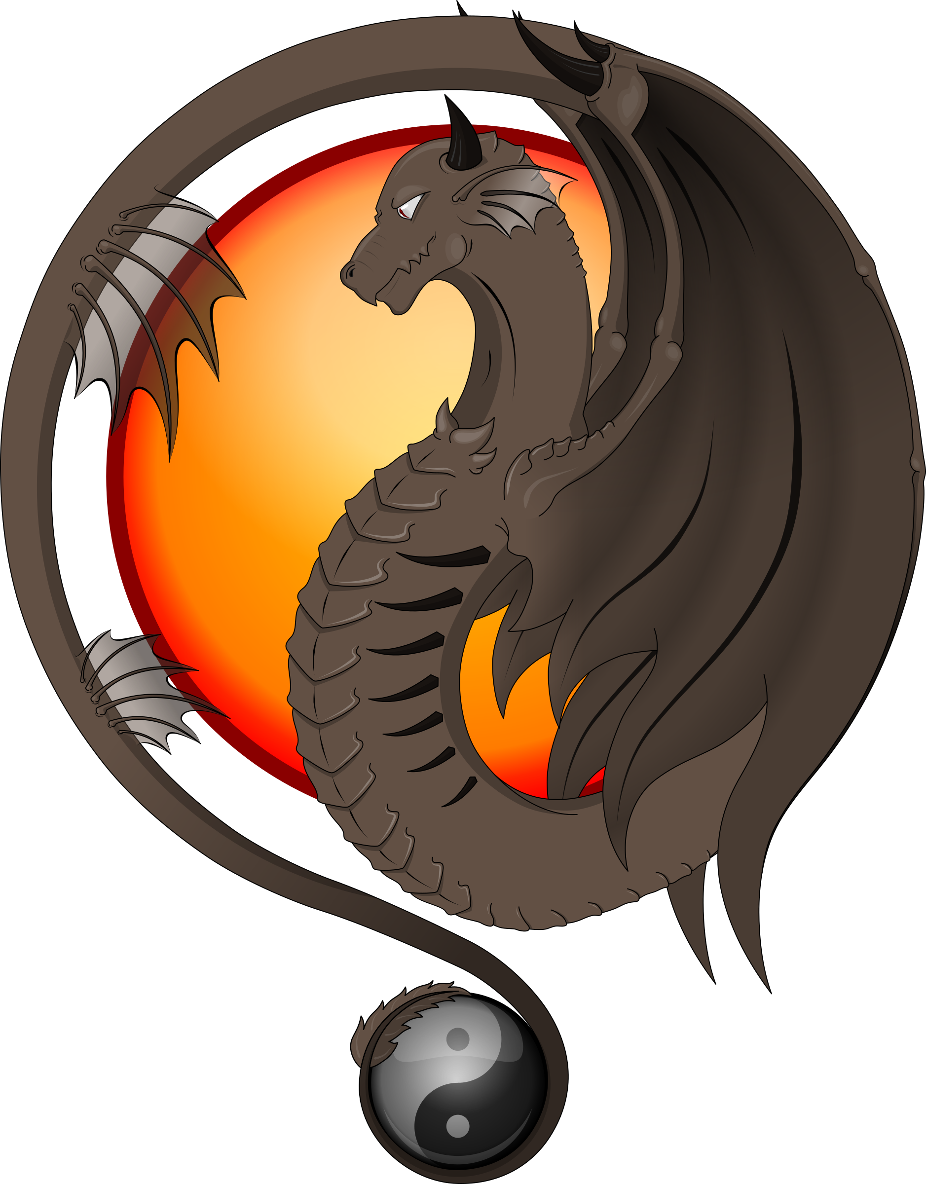 Dragon de sol by deiby_ybied