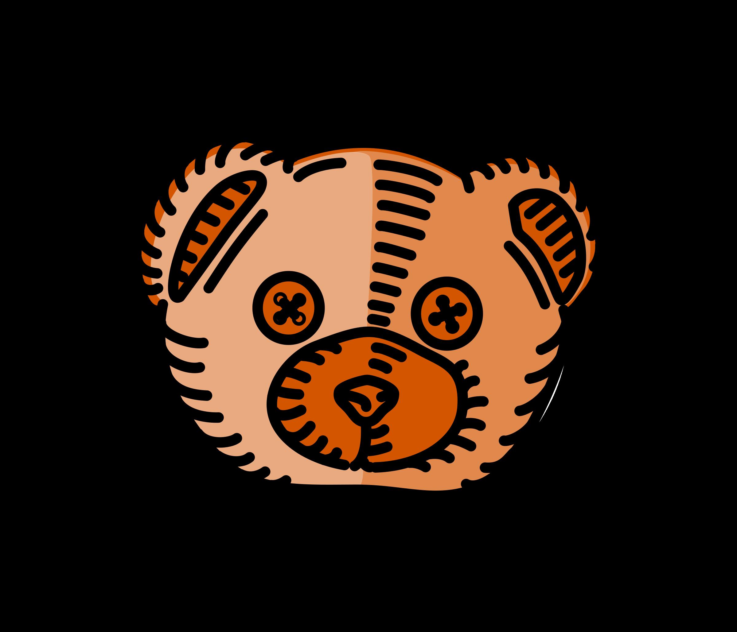 clipart teddy bear