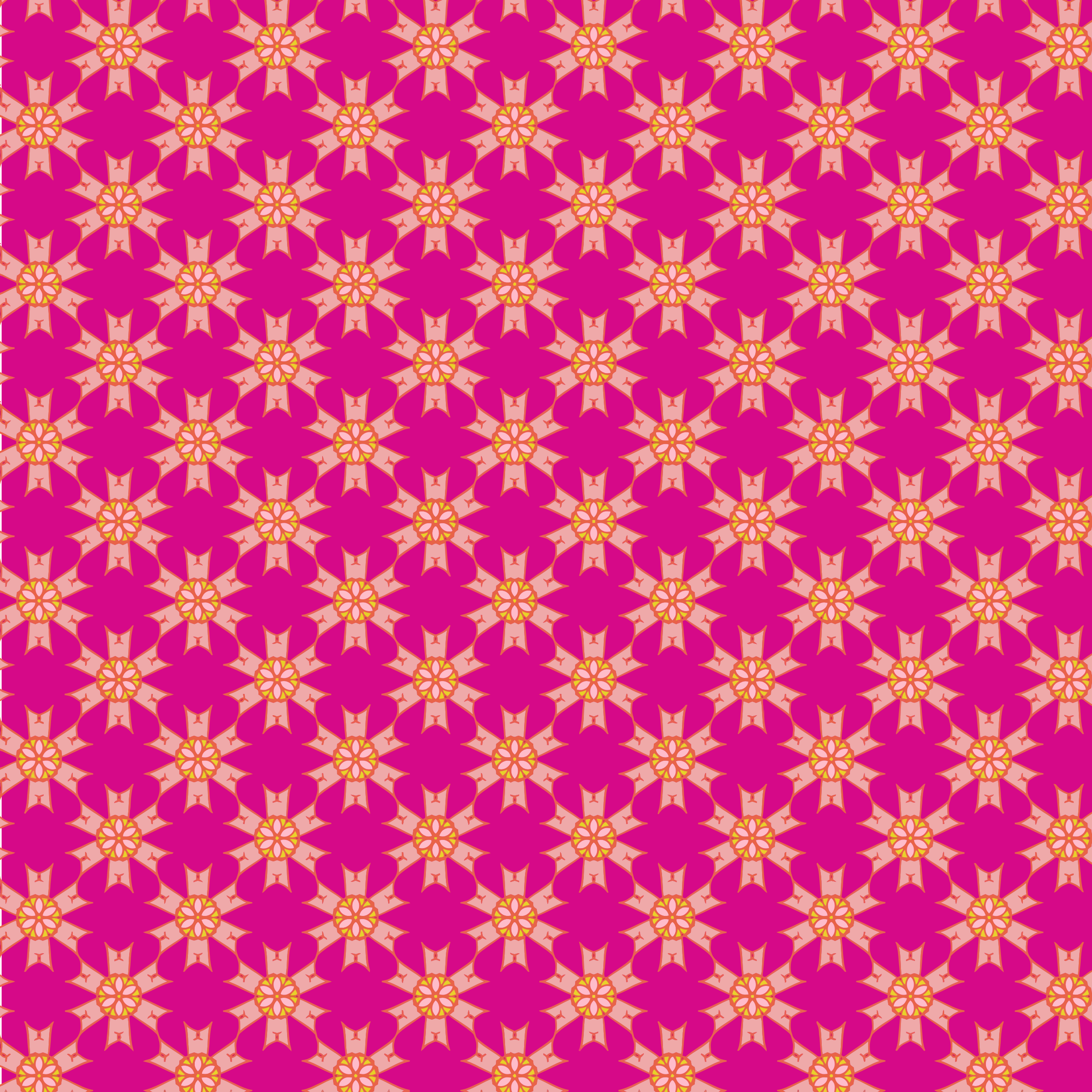 Floral Seamless Pattern 3 by GDJ