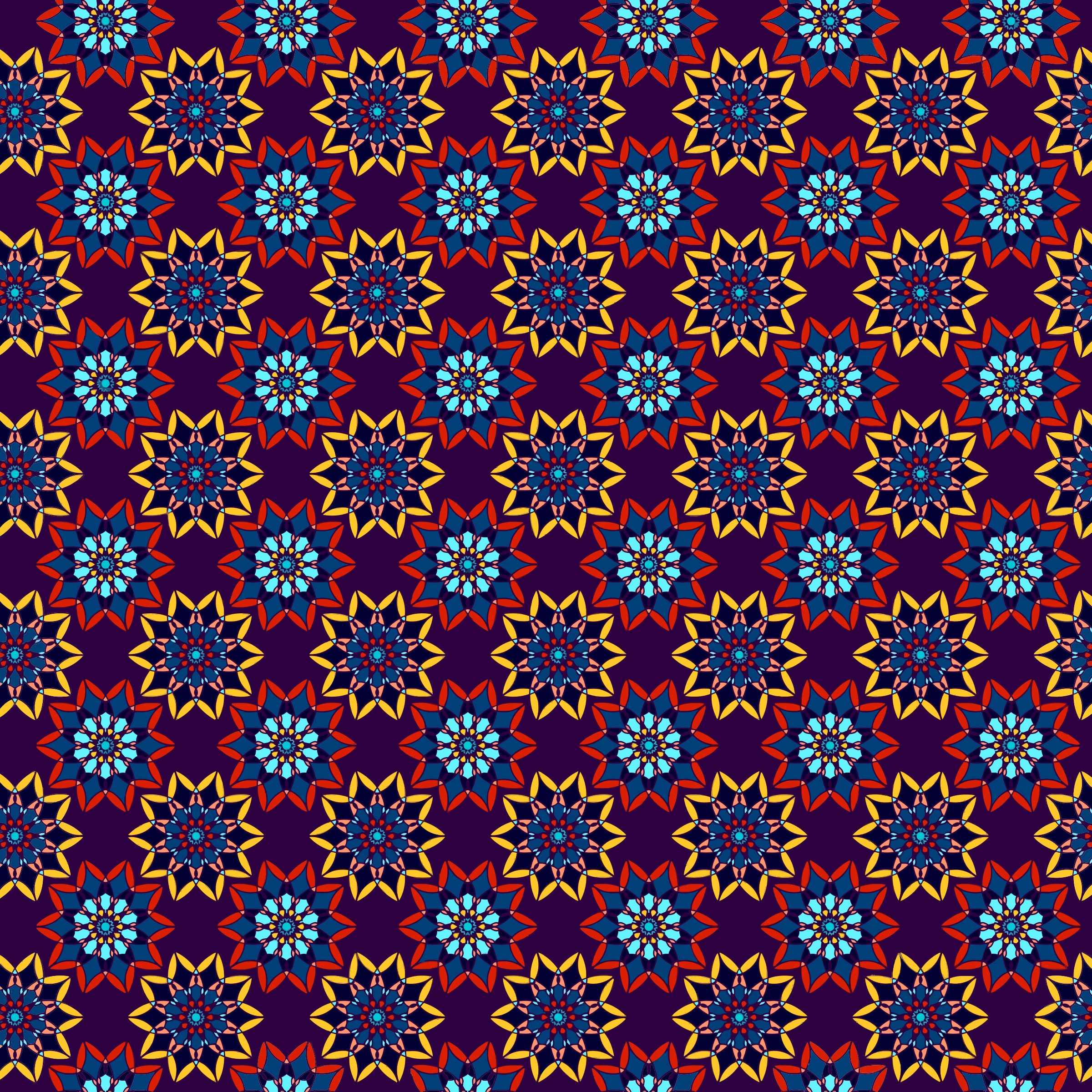Floral Seamless Pattern 4 by GDJ