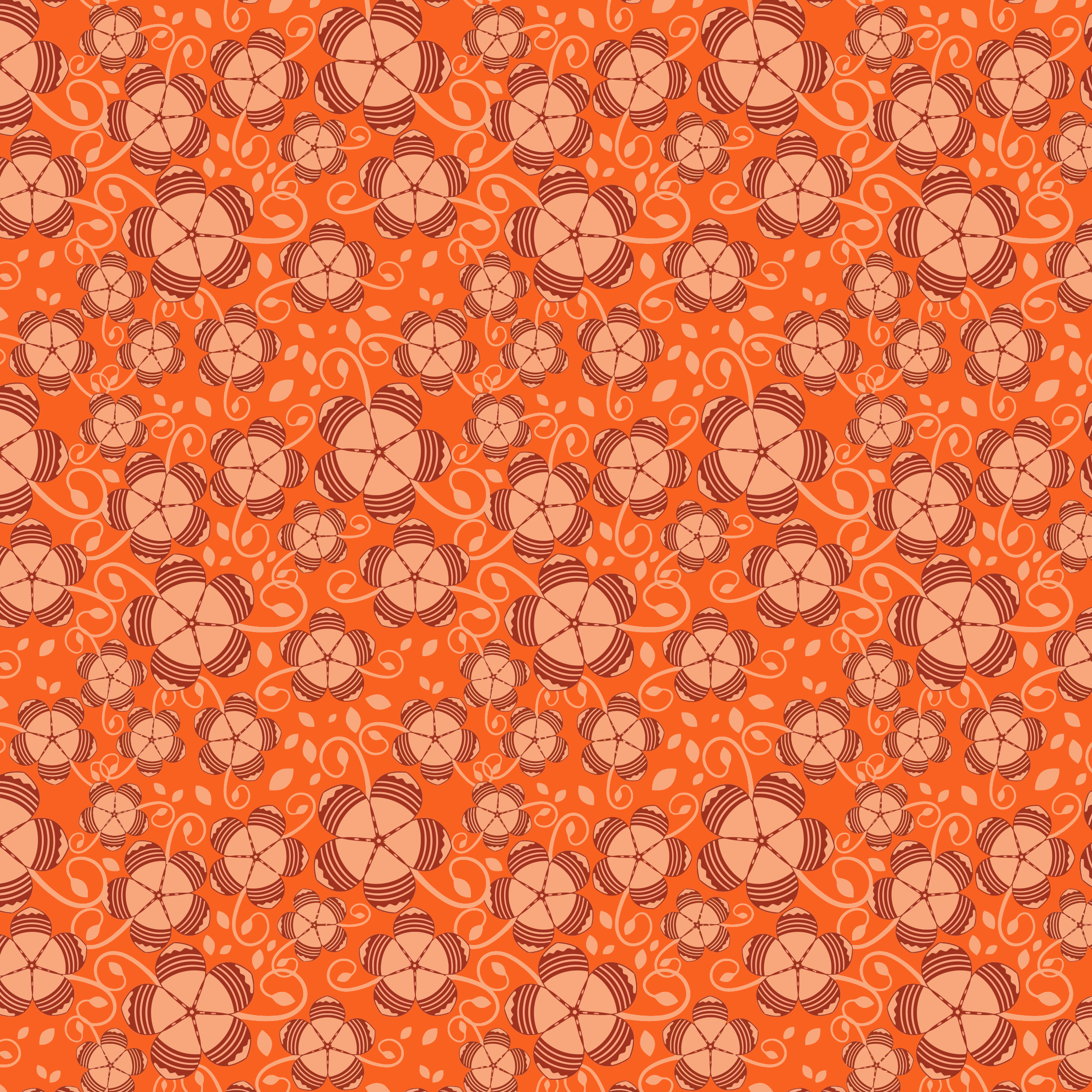 Floral Seamless Pattern 5 by GDJ